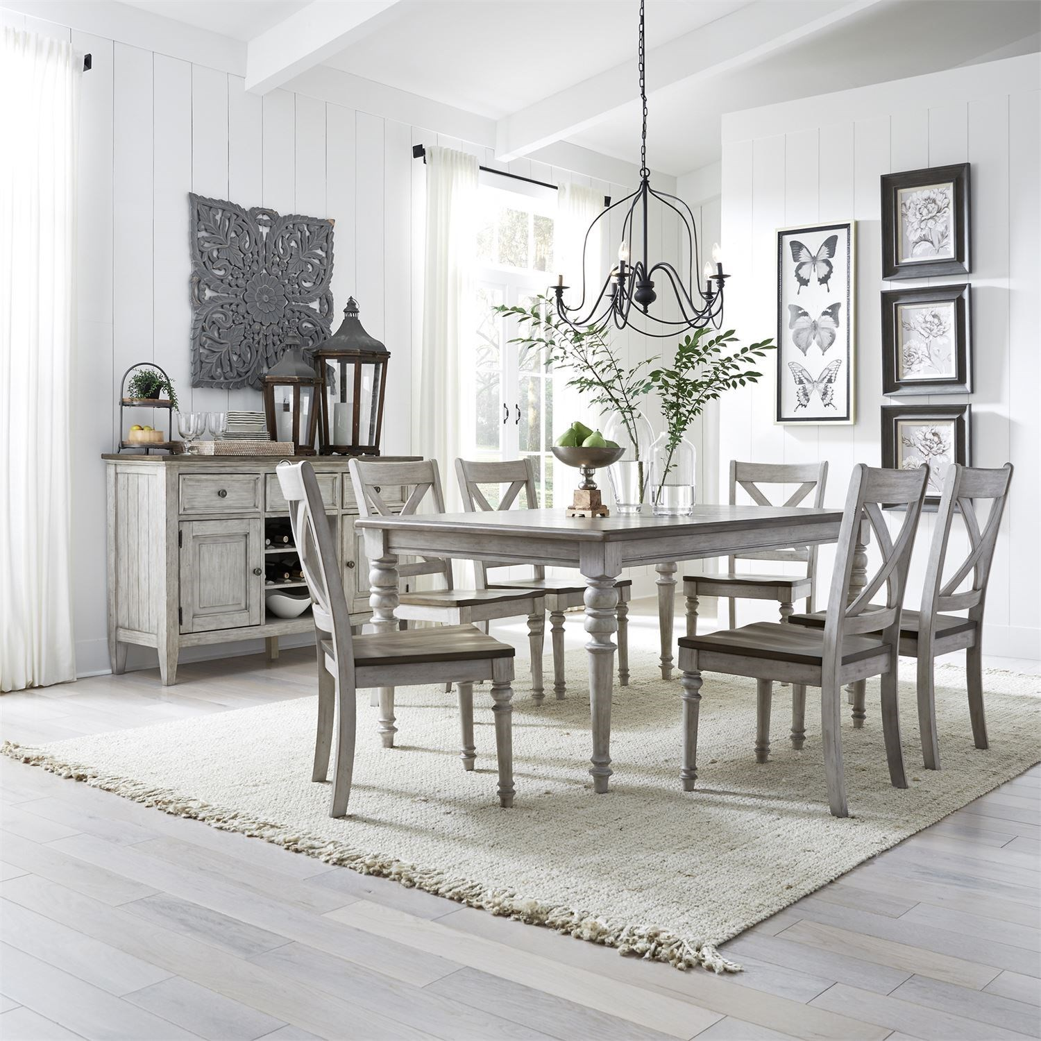 Cottage Lane Dining Room Group by Liberty Furniture at Zak's Home