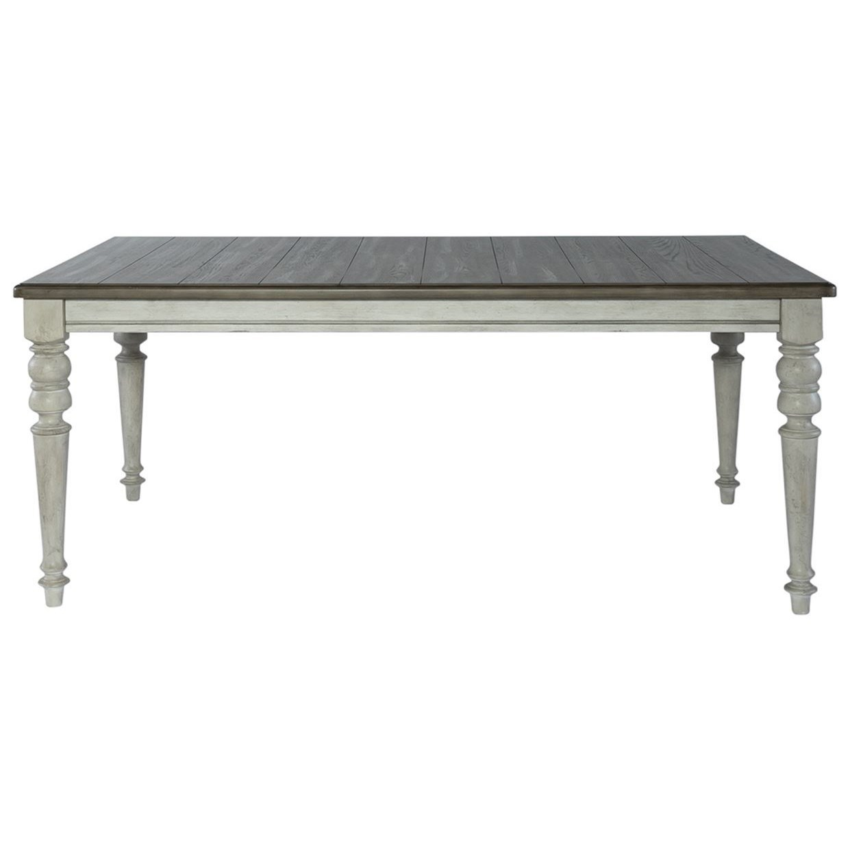 Cottage Lane Rectangular Leg Table by Libby at Walker's Furniture