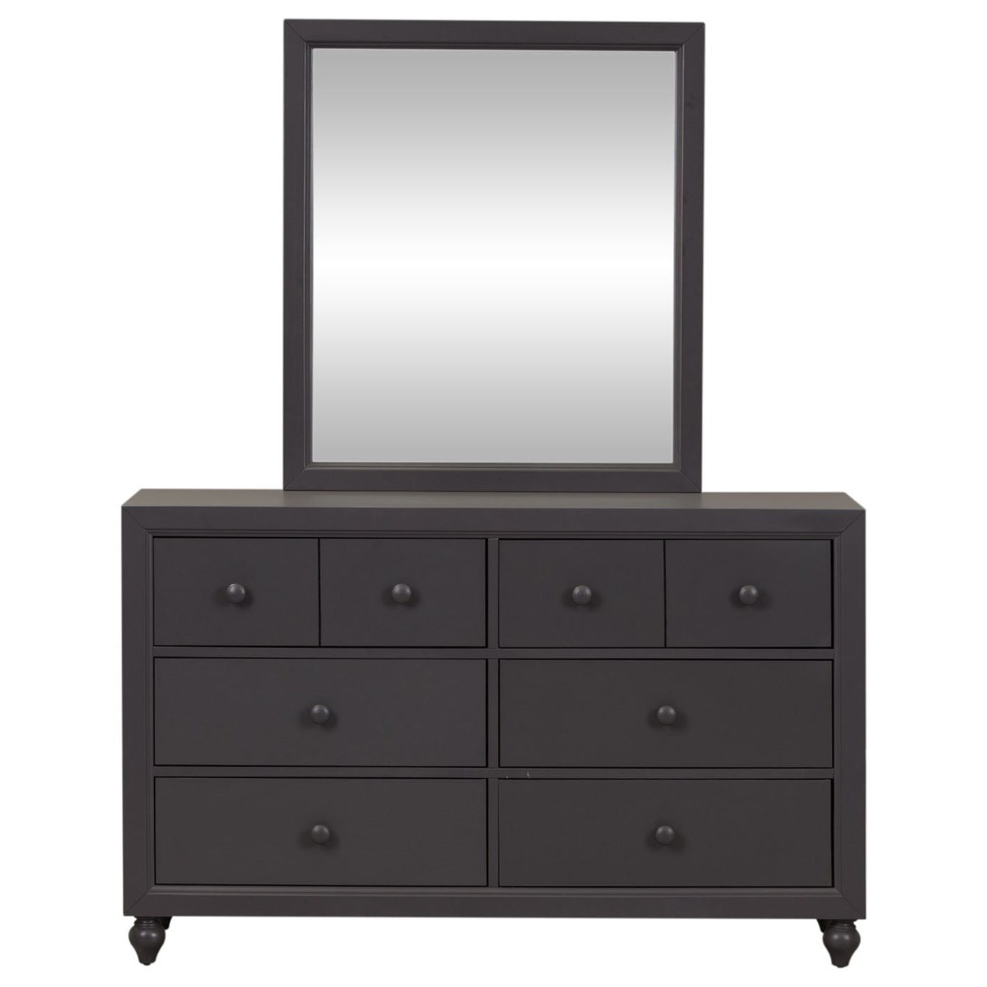 Cottage View Dresser and Mirror by Liberty Furniture at Darvin Furniture