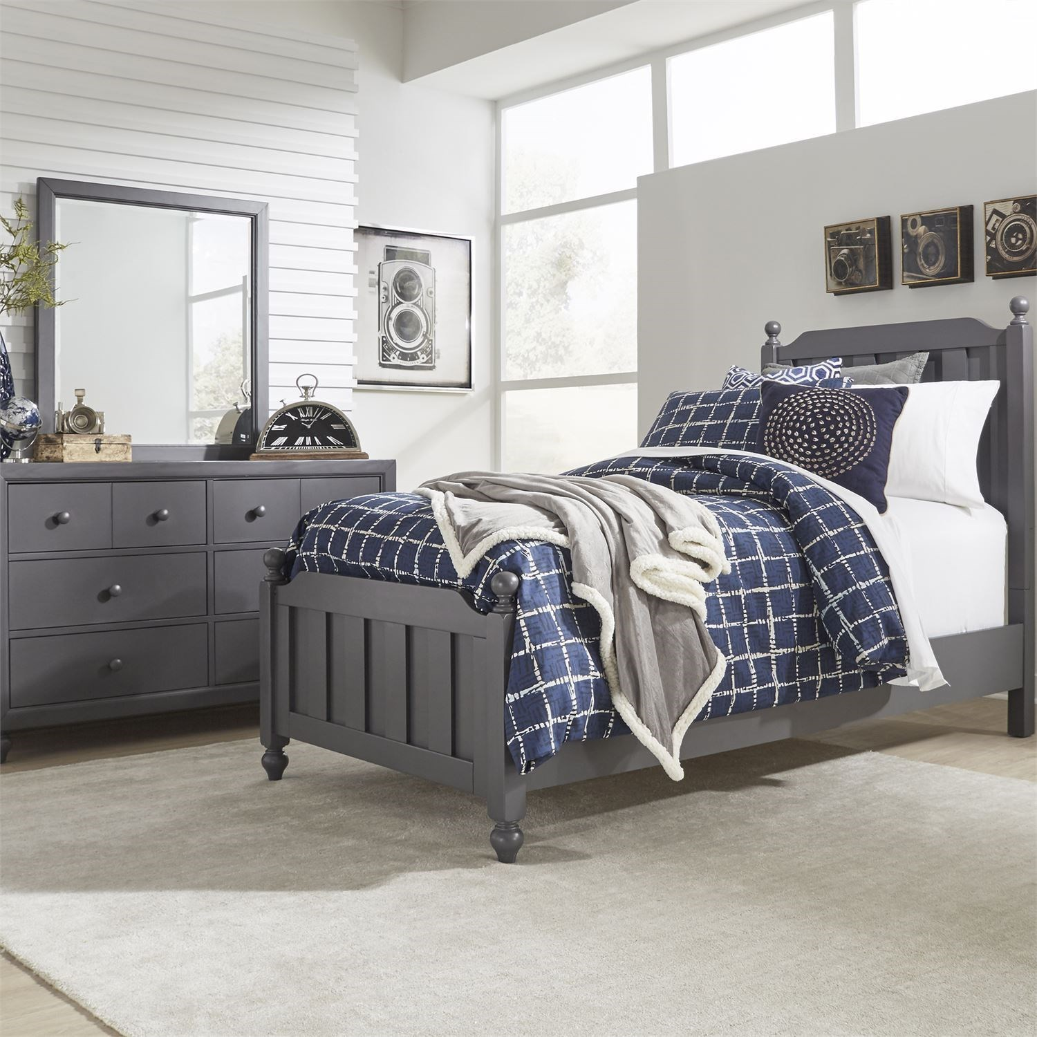 Cottage View Twin Bedroom Group by Liberty Furniture at Goffena Furniture & Mattress Center