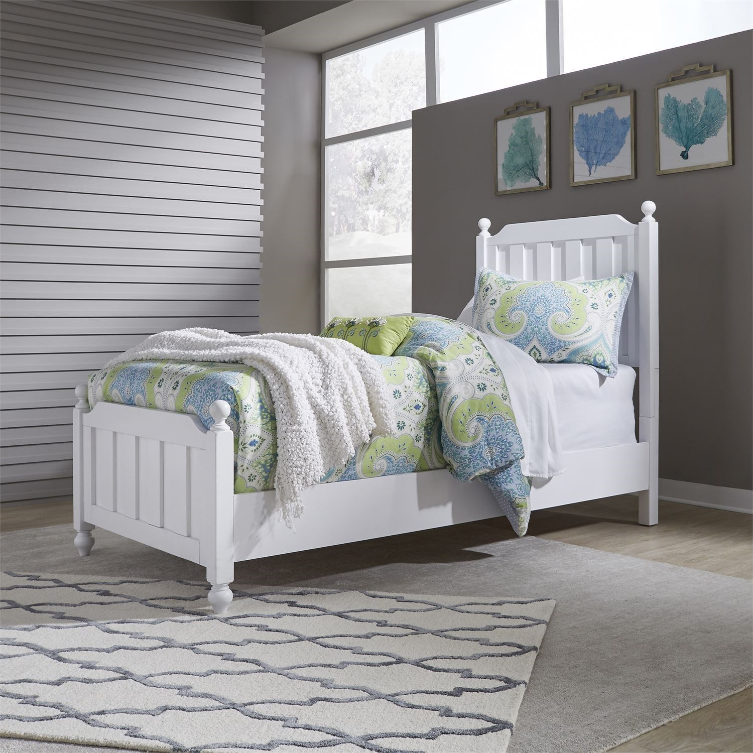 Cottage View Full Panel Bed by Liberty Furniture at Northeast Factory Direct