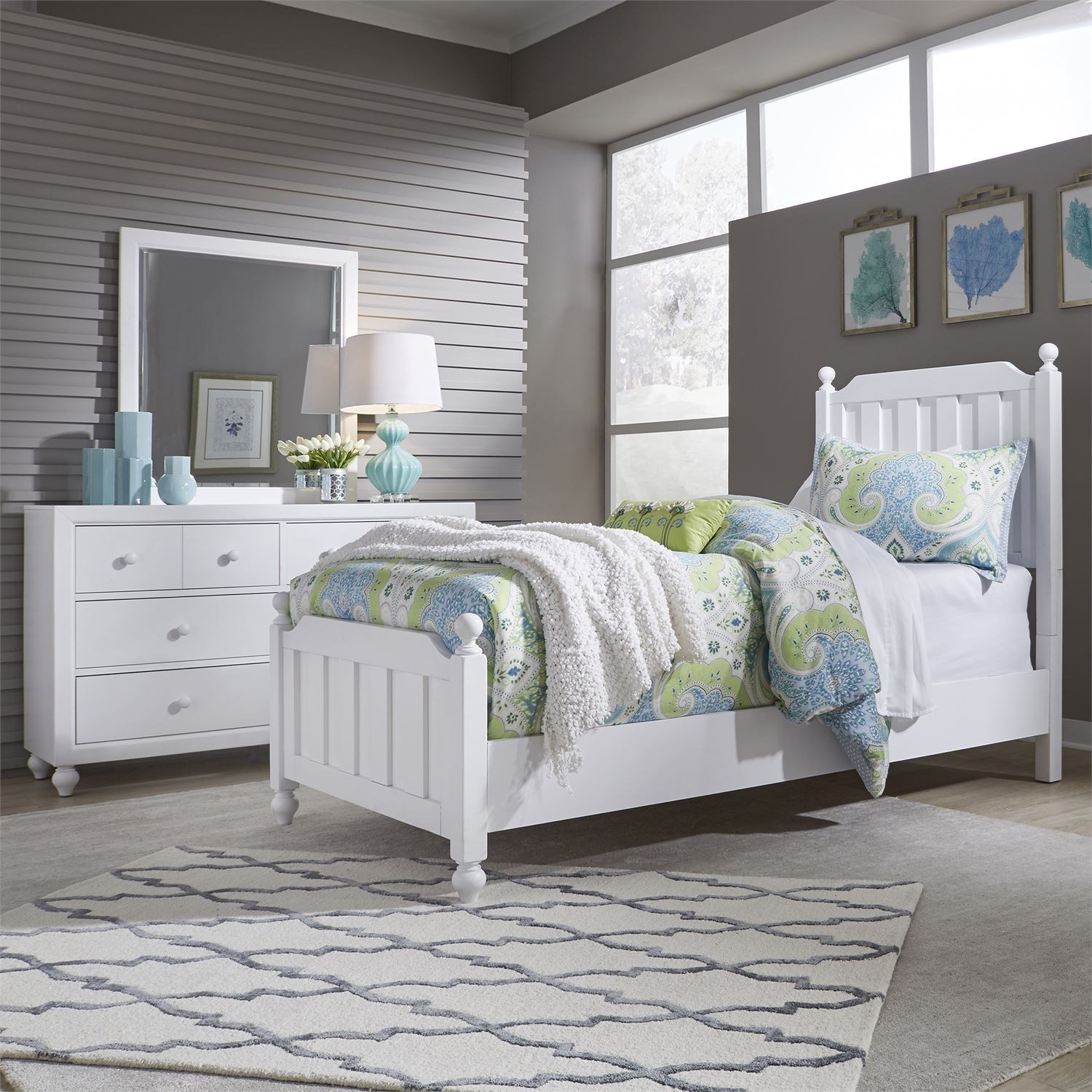 Cottage View Full Bedroom Group by Liberty Furniture at Darvin Furniture