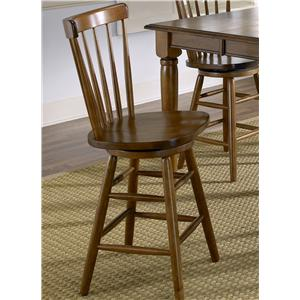 Copenhagen Barstool with Spindle Back