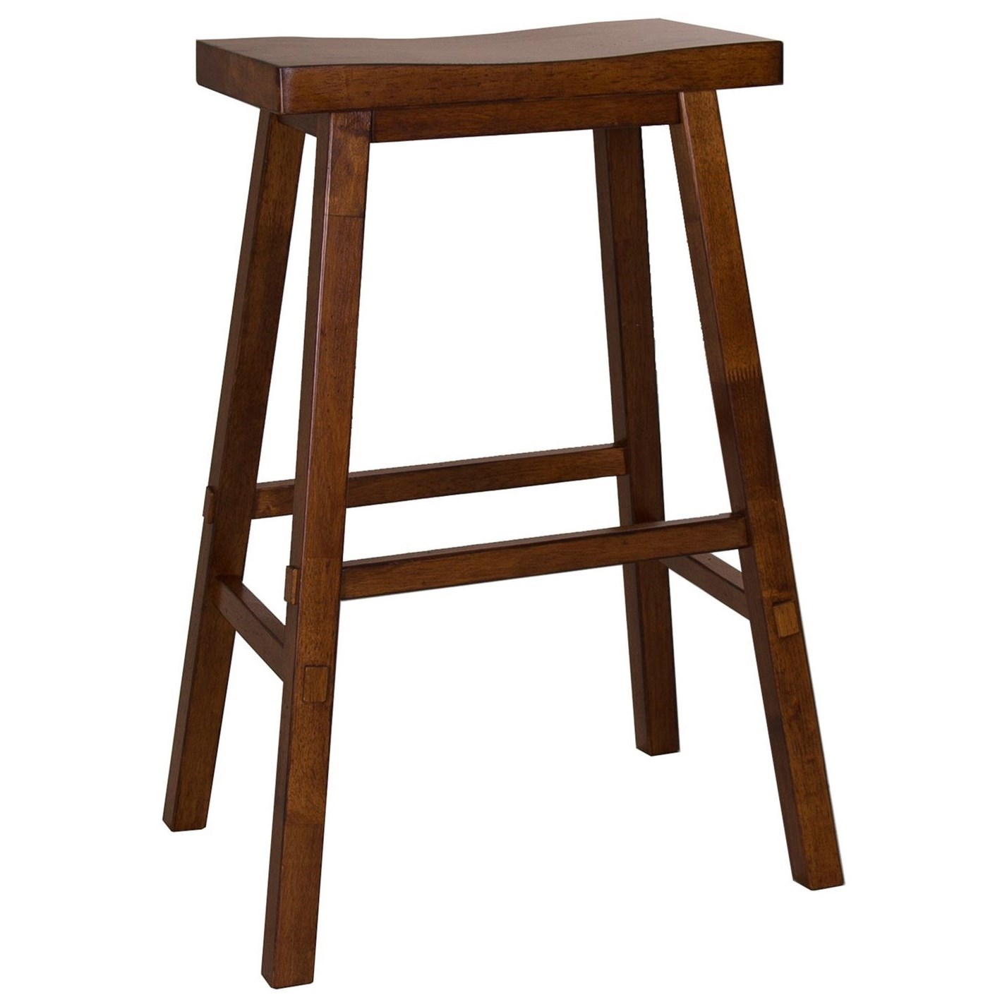 Creations II 30 Inch Sawhorse Barstool by Liberty Furniture at Steger's Furniture