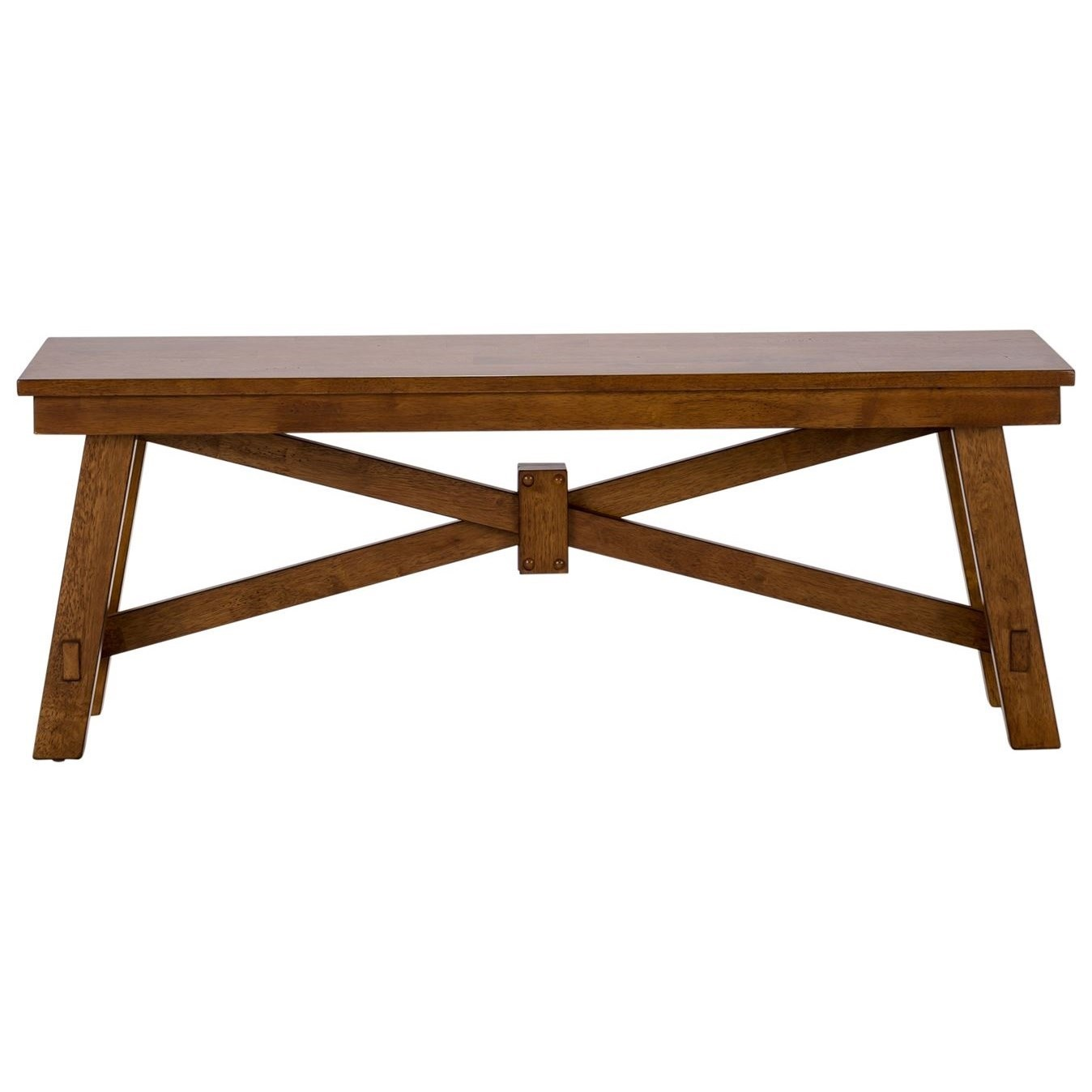 Creations II Wood Bench by Liberty Furniture at Dinette Depot