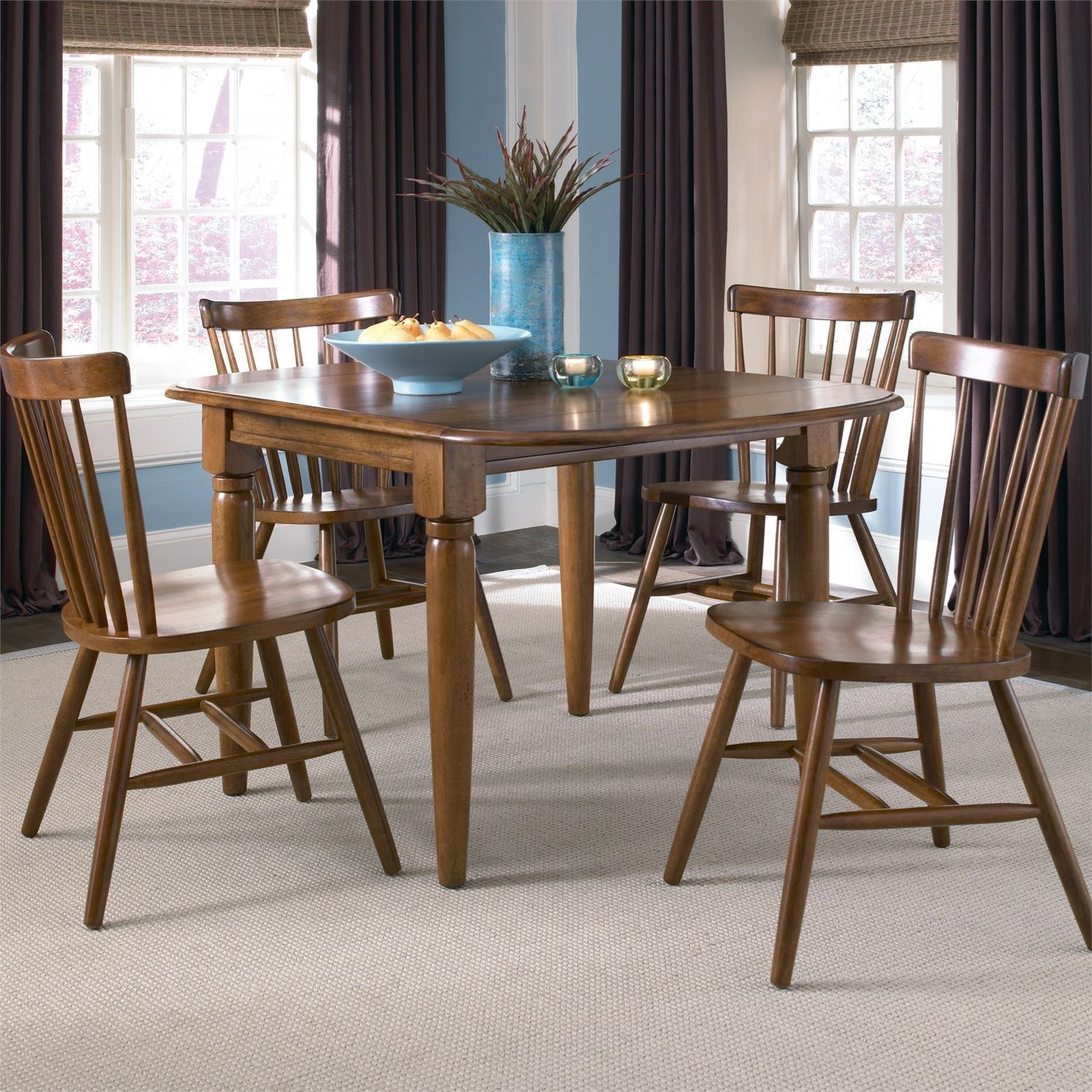 Creations II 5 Piece Dinette Table and Chair Set by Liberty Furniture at Dinette Depot