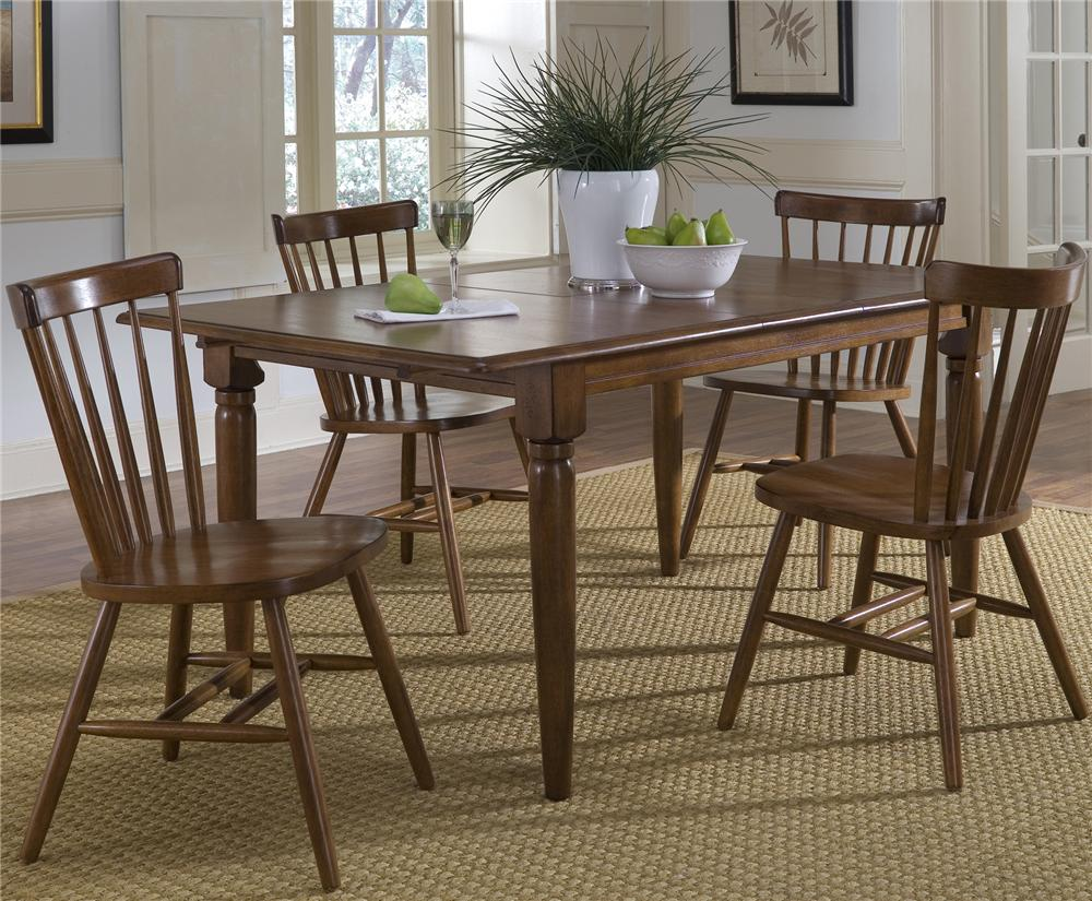 Creations II 5 Piece Table & Chair Set by Libby at Walker's Furniture