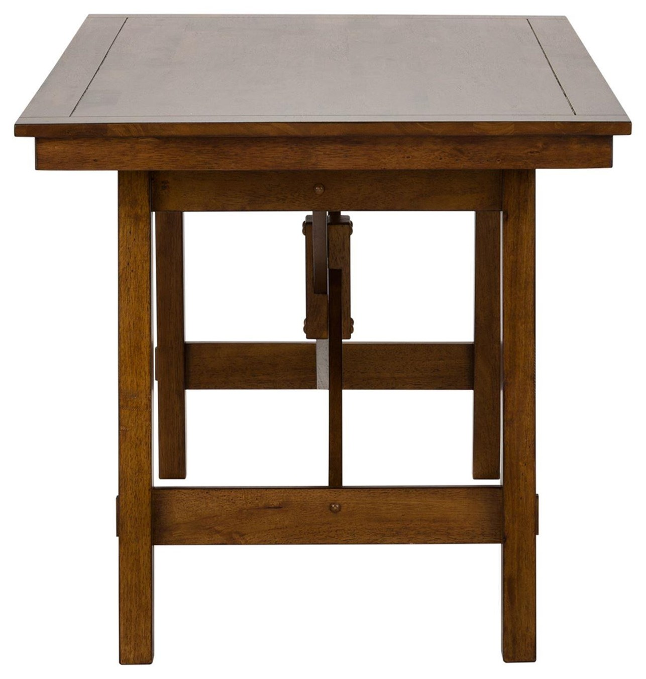 Creations II Rectangular Trestle Table by Freedom Furniture at Ruby Gordon Home