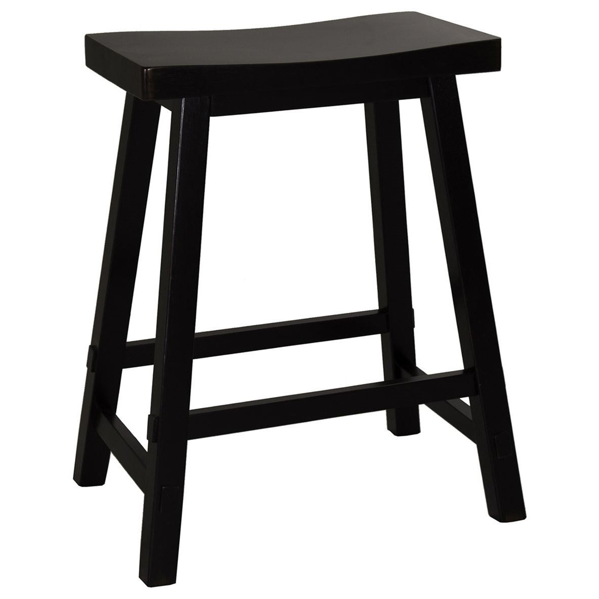 Creations II 24 Inch Sawhorse Barstool by Liberty Furniture at Catalog Outlet