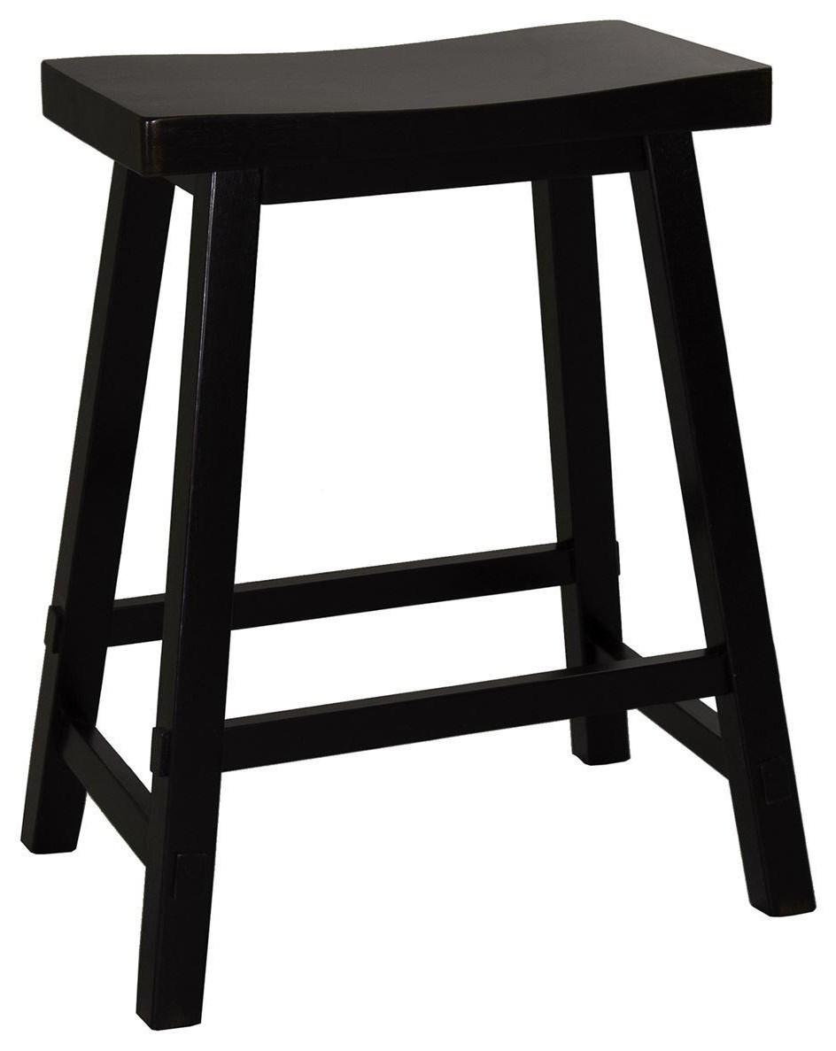 Creations II 24 Inch Sawhorse Barstool by Freedom Furniture at Ruby Gordon Home