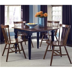 Liberty Furniture Creations II 5 Piece Dinette Table and Chair Set
