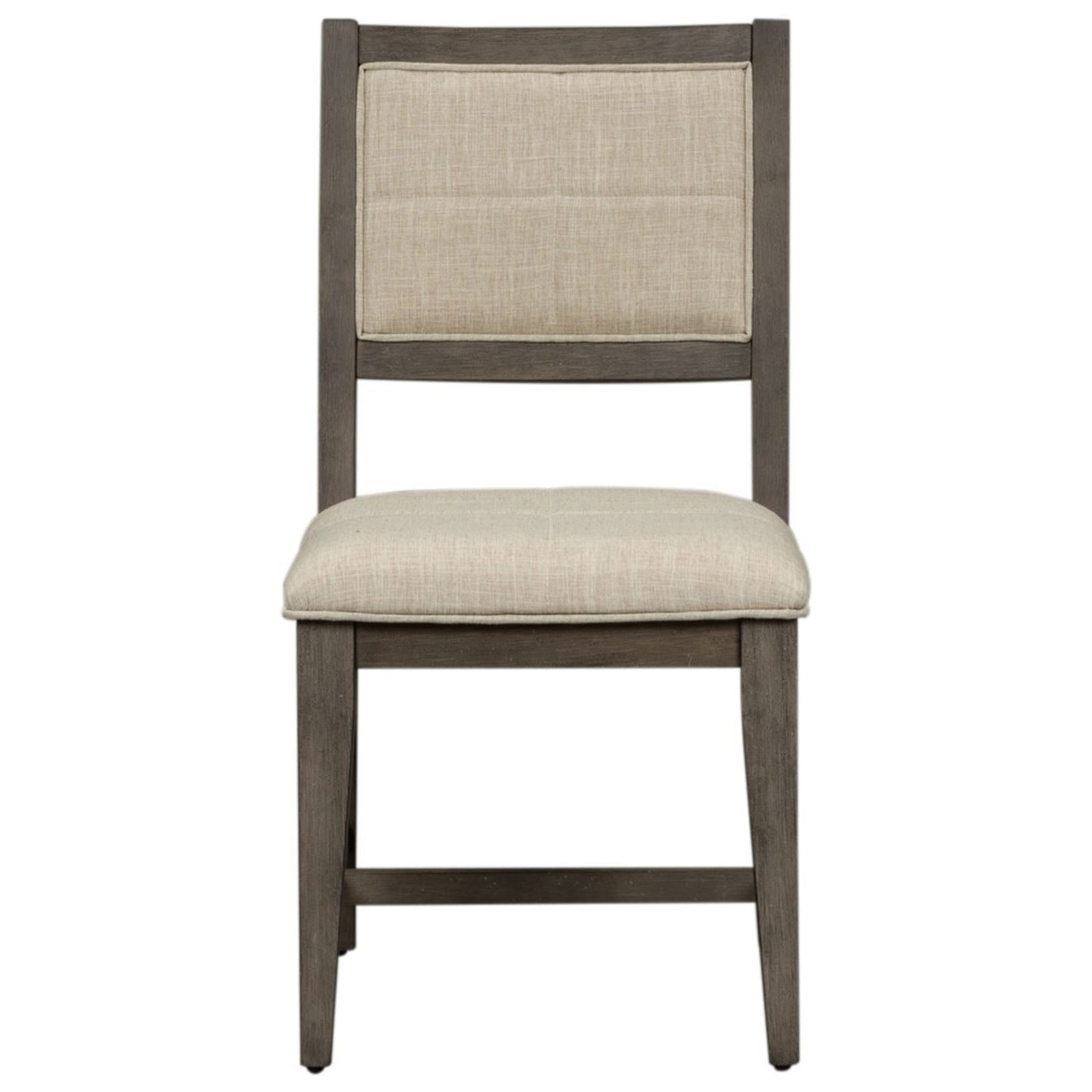 Crescent Creek Upholstered Side Chair (RTA) by Libby at Walker's Furniture