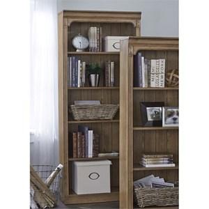 "Liberty Furniture Cumberland Creek 72"" Open Bookcase"