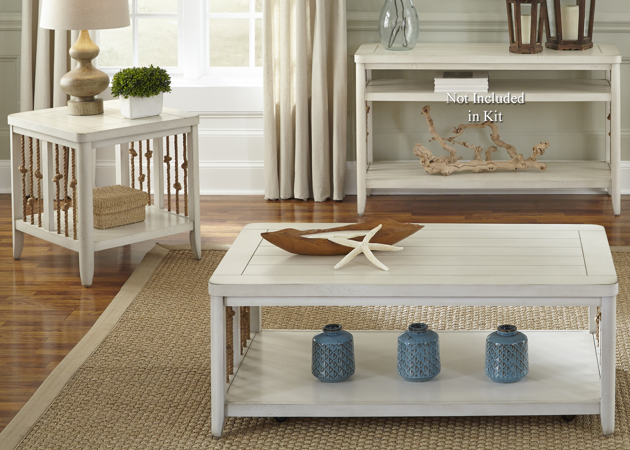 Dockside II 3 Piece Occasional Table Set  by Liberty Furniture at Johnny Janosik