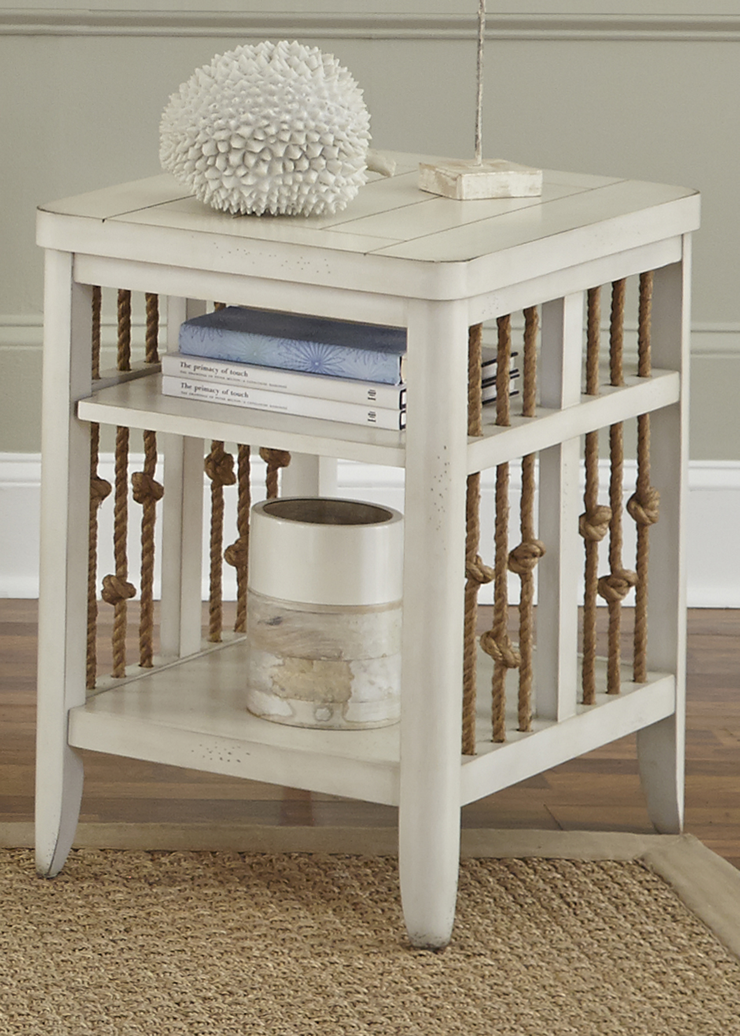 Dockside II Chair Side Table                             by Libby at Walker's Furniture