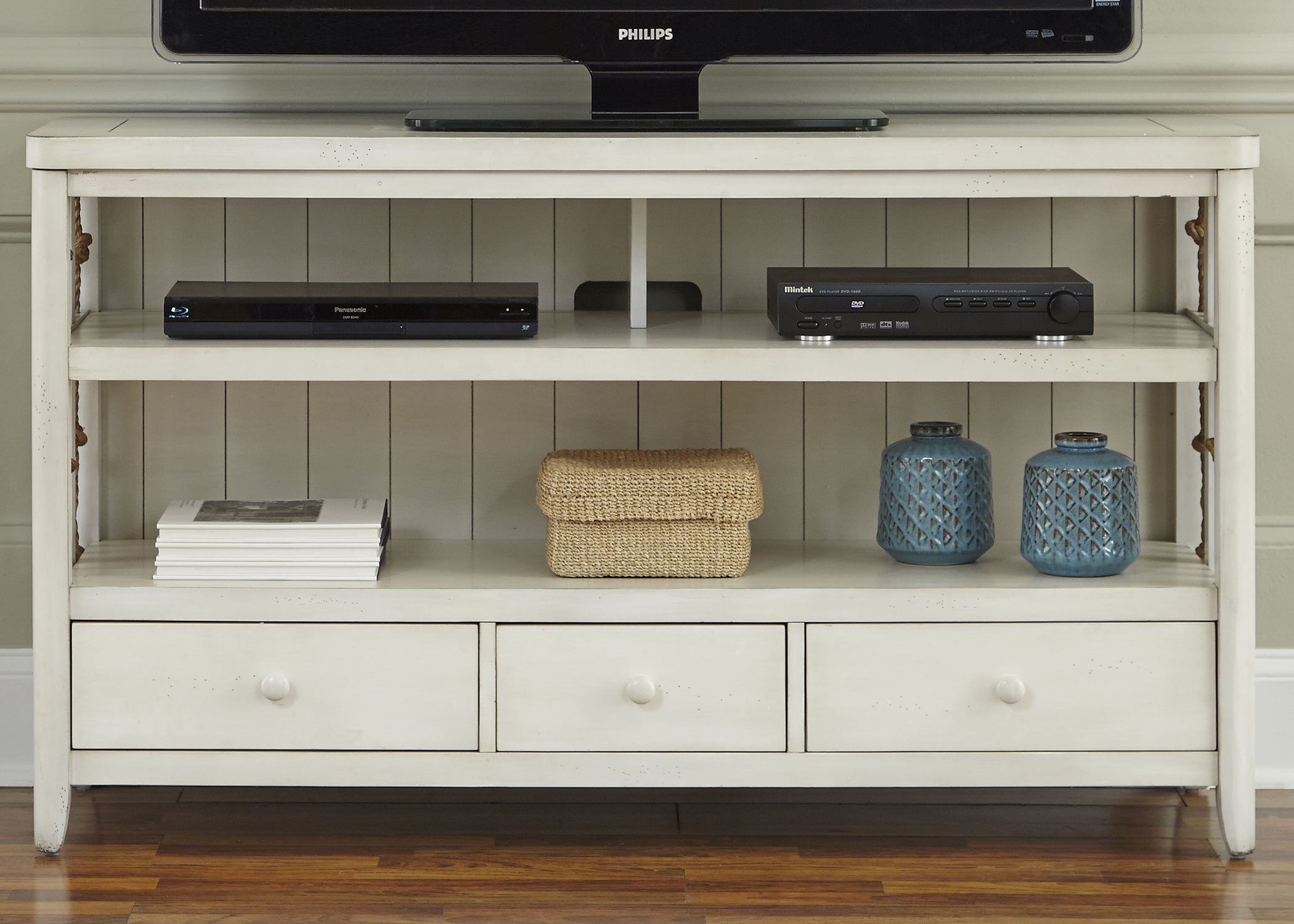 Dockside II TV Console                                   by Liberty Furniture at Northeast Factory Direct