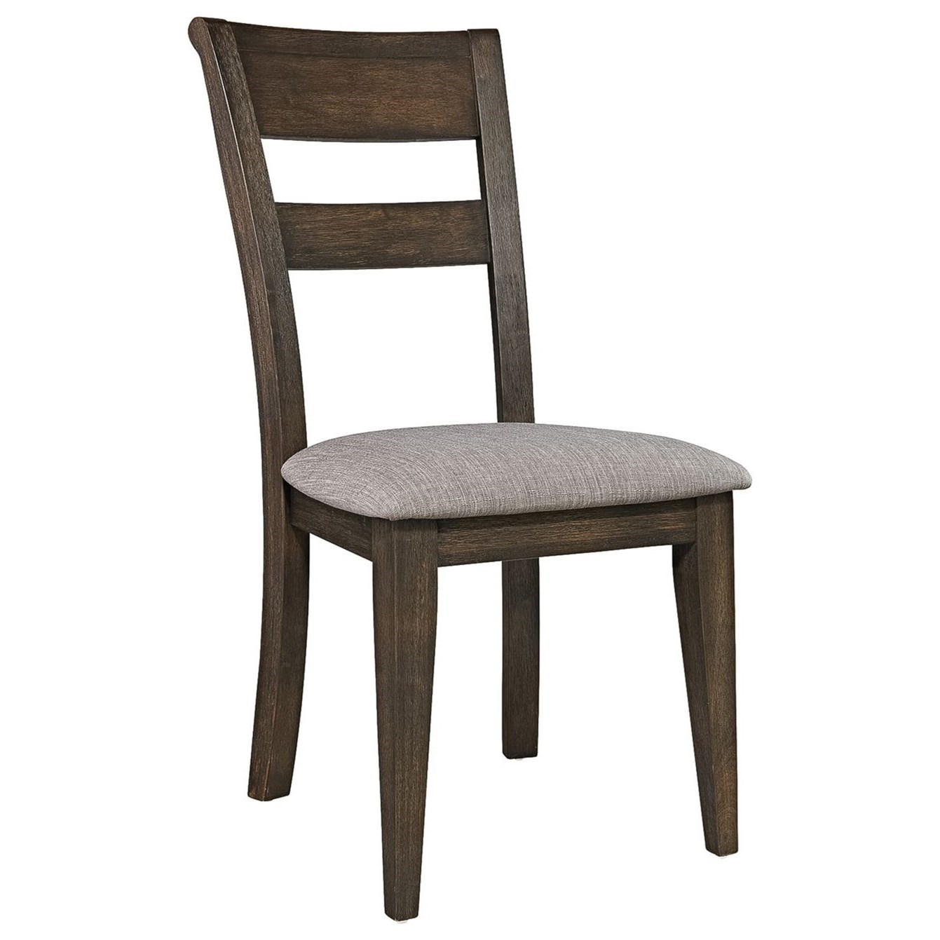 Double Bridge Splat Back Side Chair by Liberty Furniture at Darvin Furniture