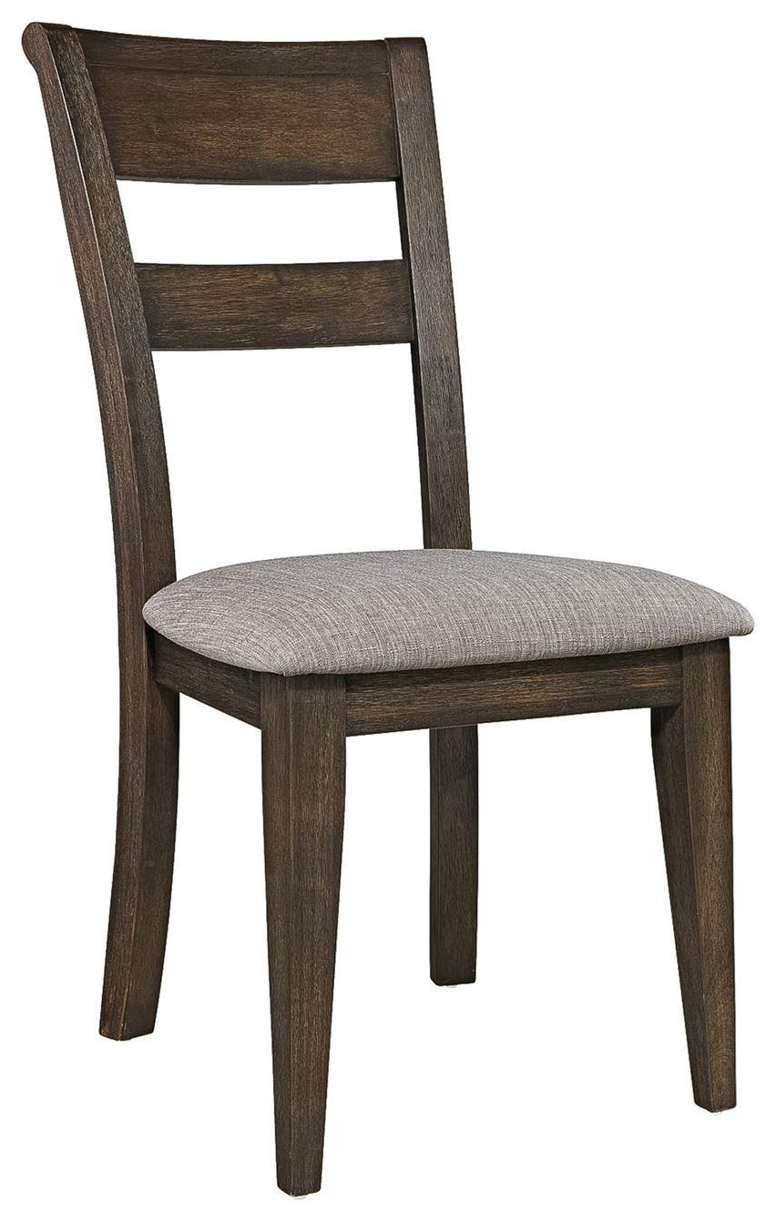 Denmark  Splat Back Side Chair by Freedom Furniture at Ruby Gordon Home