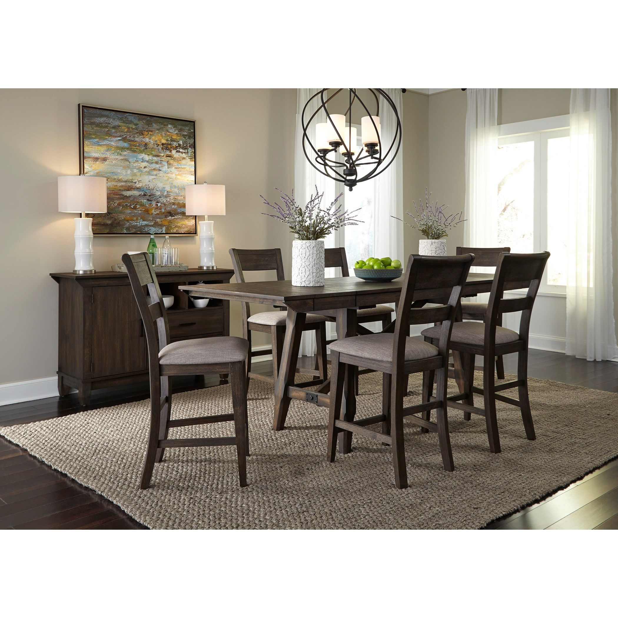 Double Bridge Dining Room Group by Liberty Furniture at Northeast Factory Direct