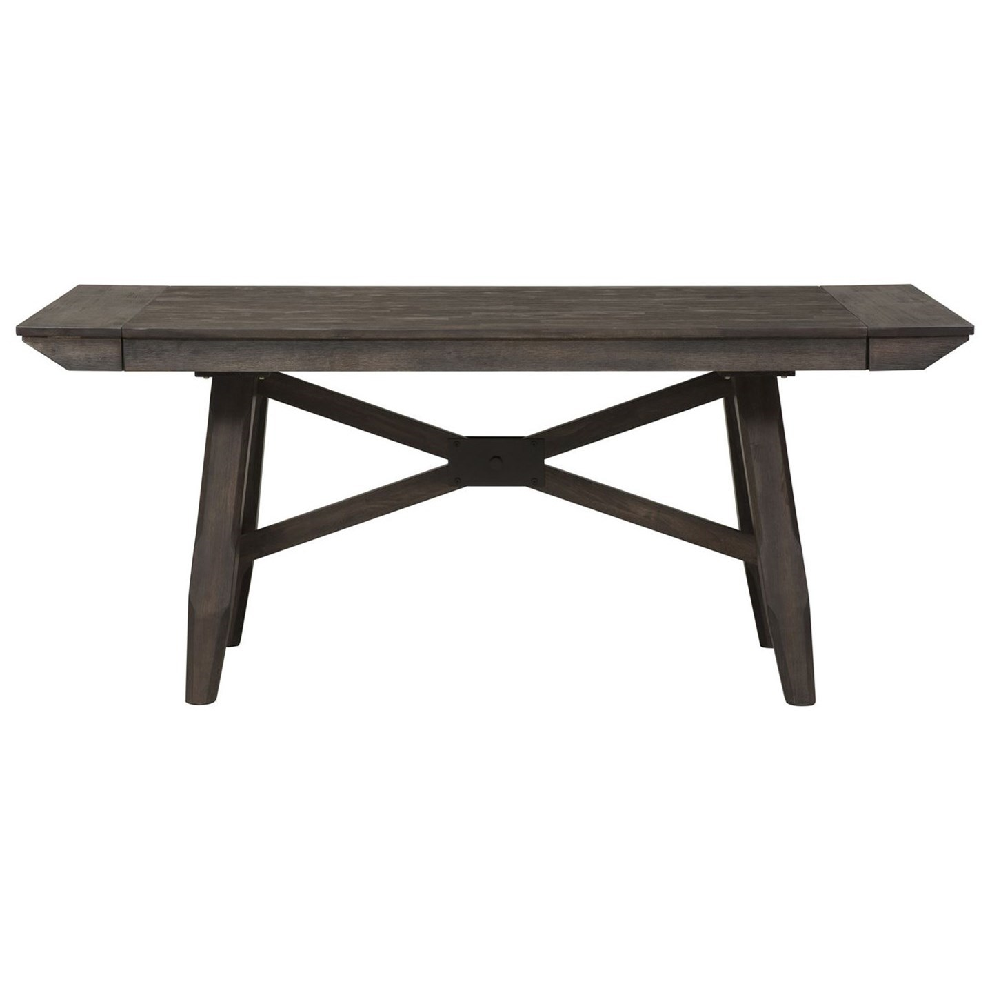 Double Bridge Trestle Table by Liberty Furniture at Northeast Factory Direct