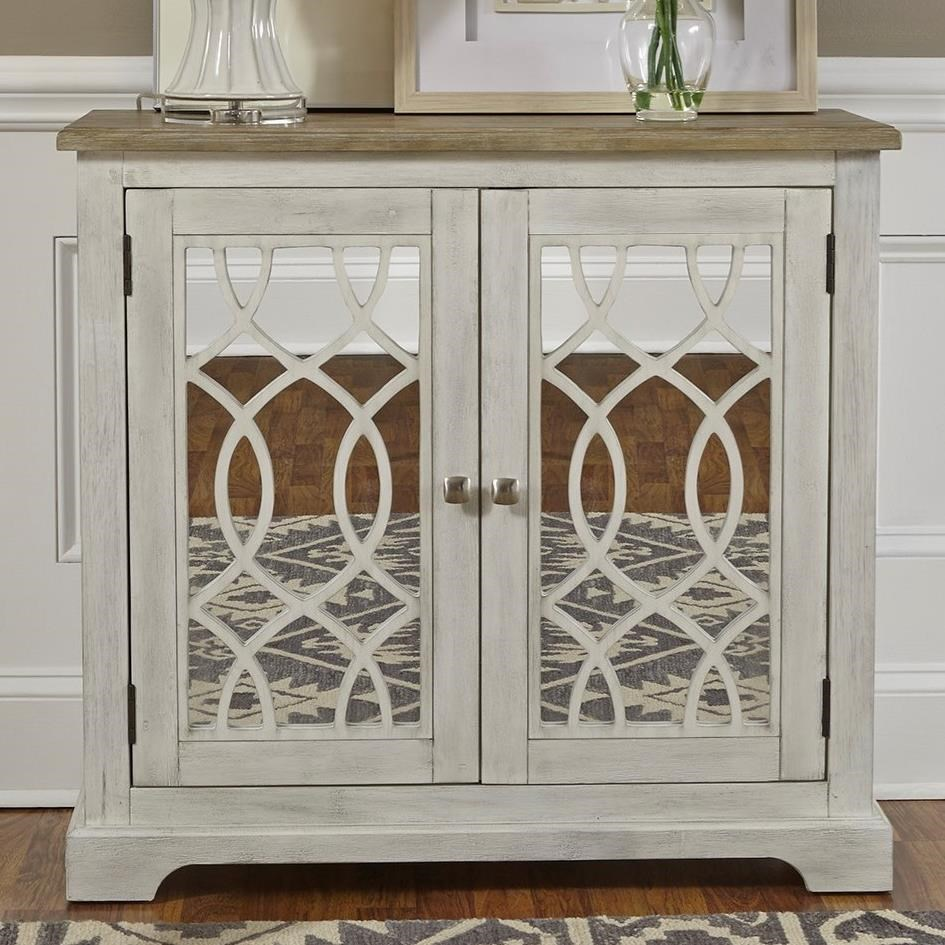 Eclectic Living Accents Accent Cabinet by Liberty Furniture at Northeast Factory Direct