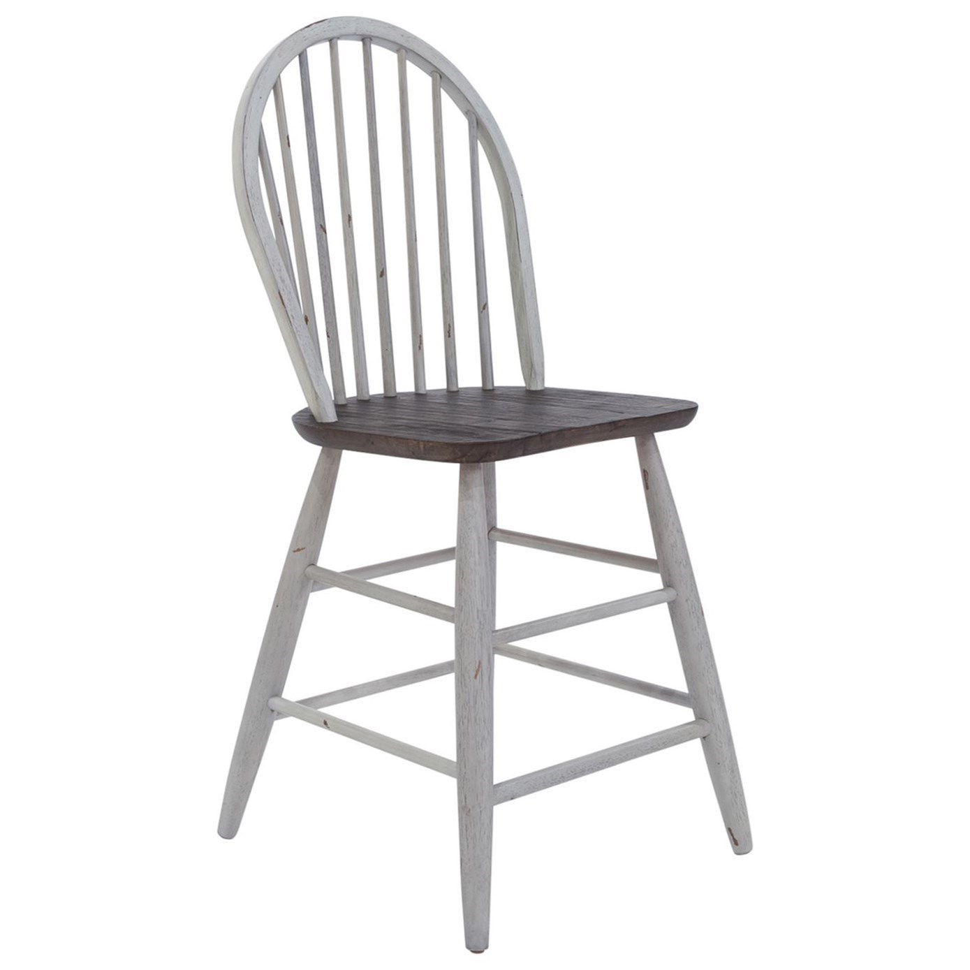 Farmhouse Windsor Back Counter Height Chair by Freedom Furniture at Ruby Gordon Home