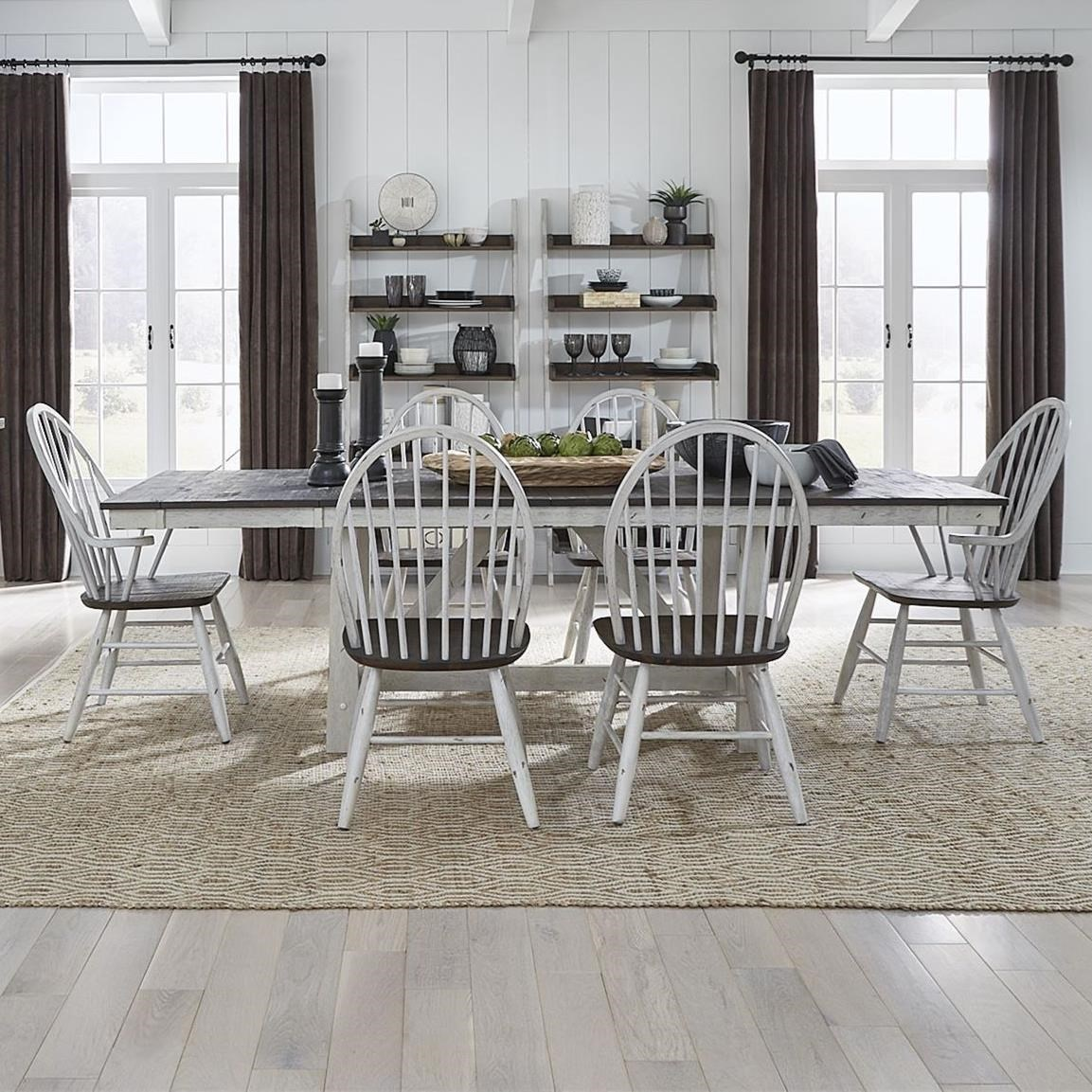Farmhouse Optional 7-Piece Dining Set by Freedom Furniture at Ruby Gordon Home