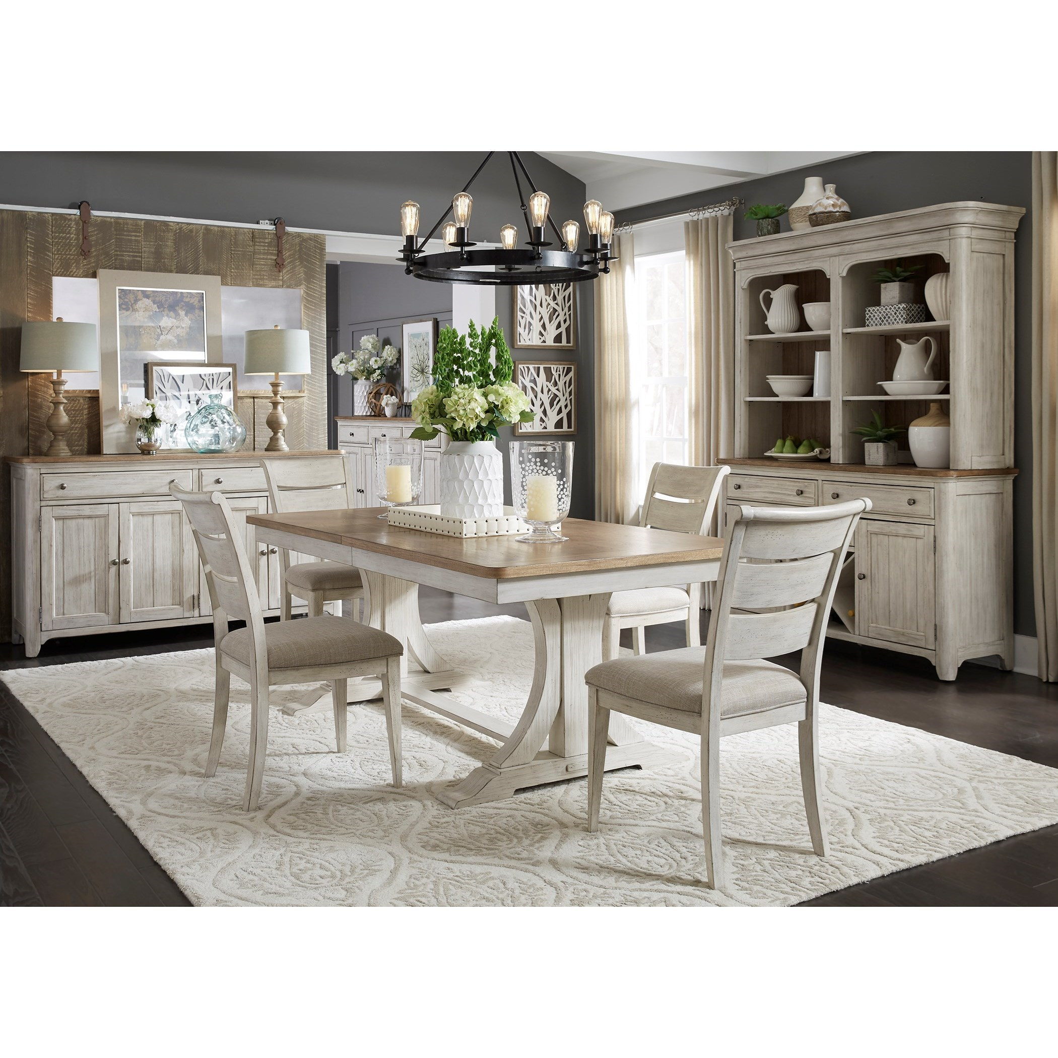 Farmhouse Reimagined Dining Room Group by Liberty Furniture at Dinette Depot