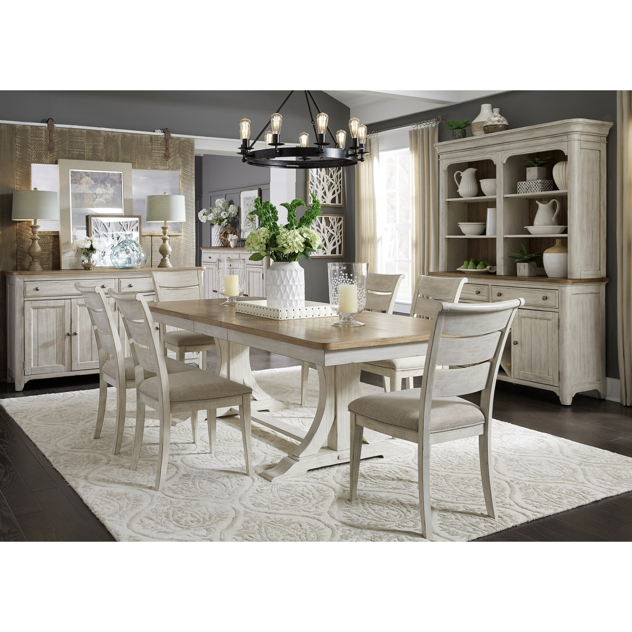 Farmhouse Reimagined Dining Room Group by Liberty Furniture at Northeast Factory Direct