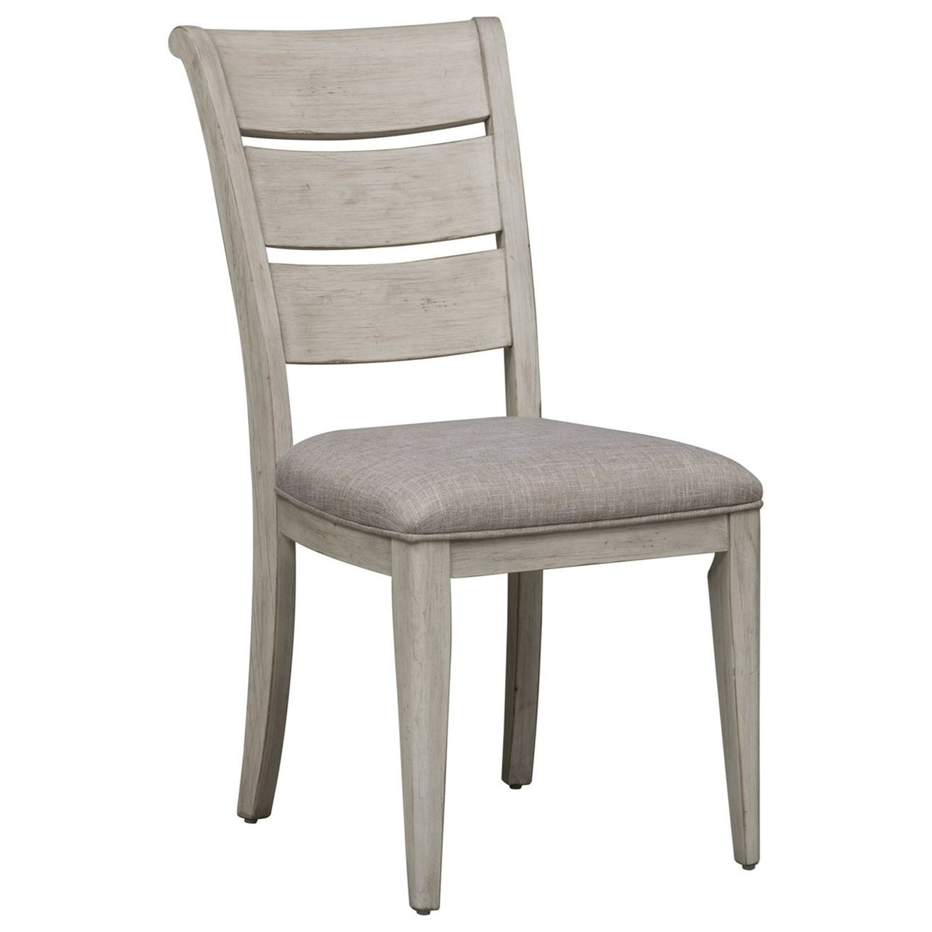 Farmhouse Reimagined Ladder Back  Side Chair by Liberty Furniture at Northeast Factory Direct