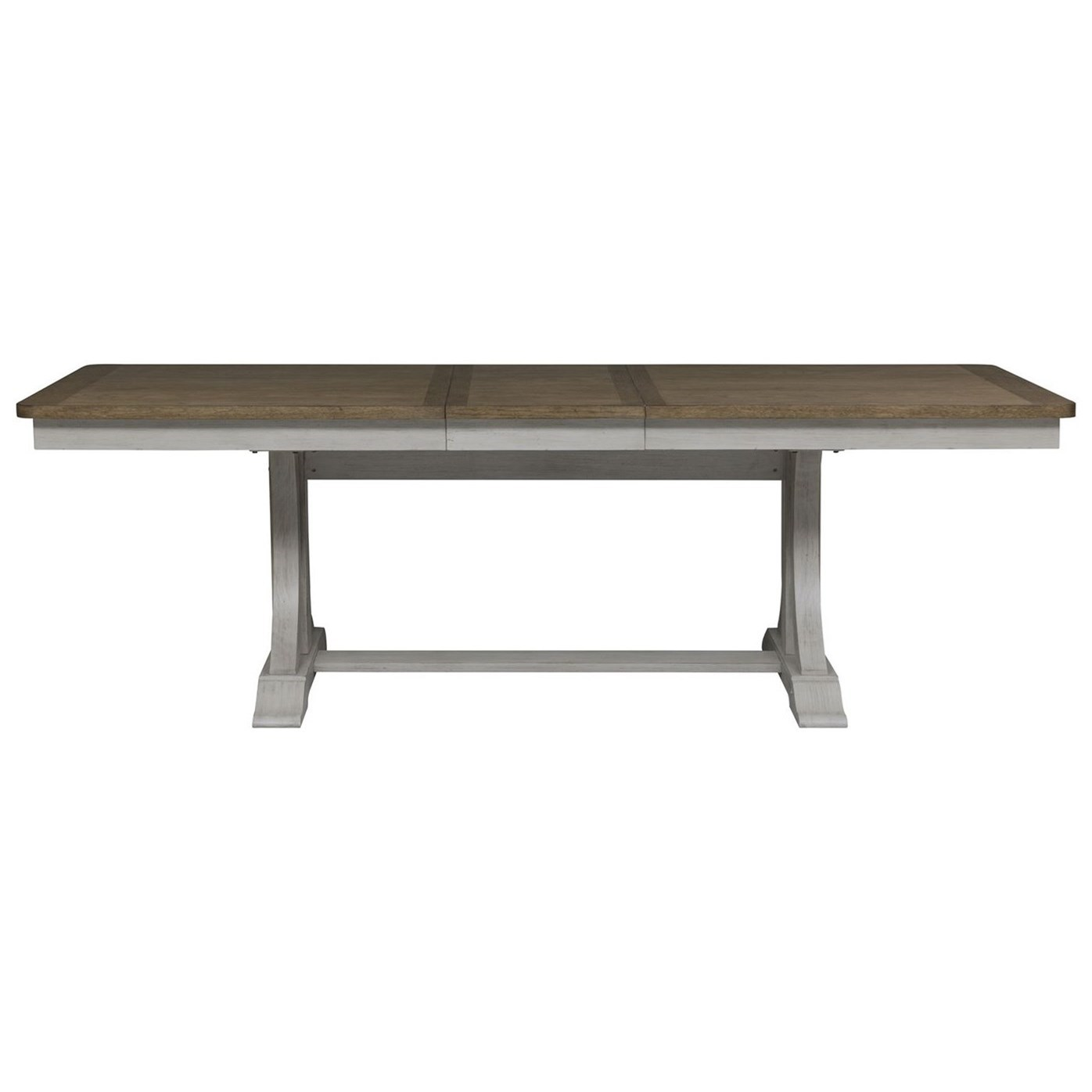 Farmhouse Reimagined Trestle Table by Libby at Walker's Furniture