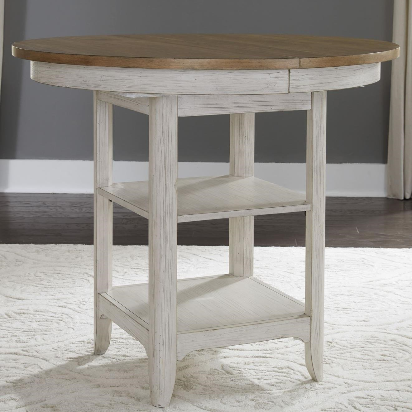 Farmhouse Reimagined Gathering Table by Liberty Furniture at Godby Home Furnishings