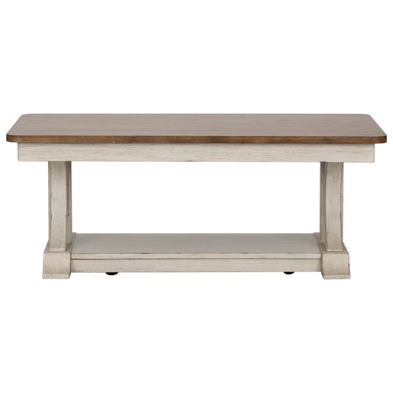 Farmhouse Reimagined Cocktail Table by Libby at Walker's Furniture
