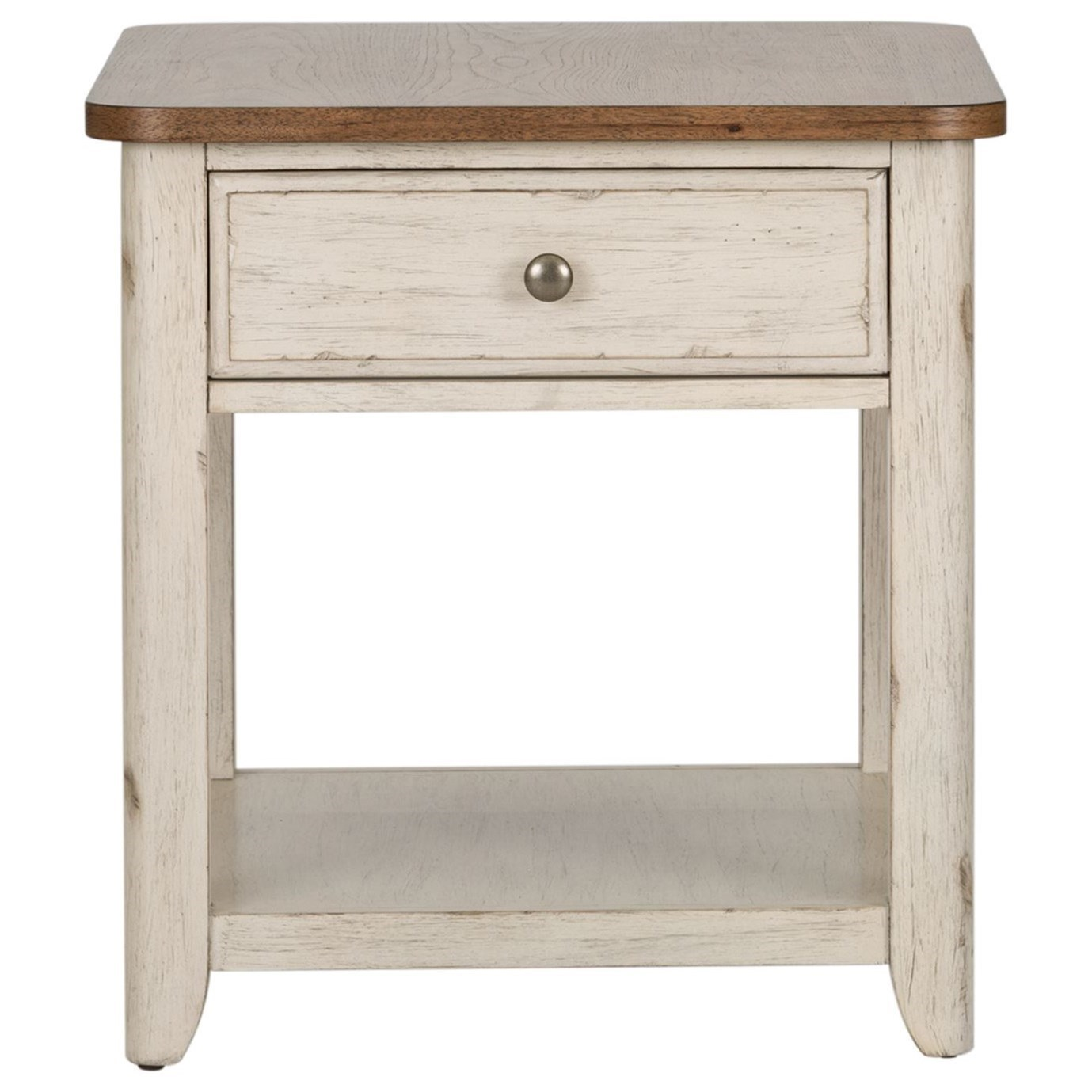 Farmhouse Reimagined End Table by Libby at Walker's Furniture