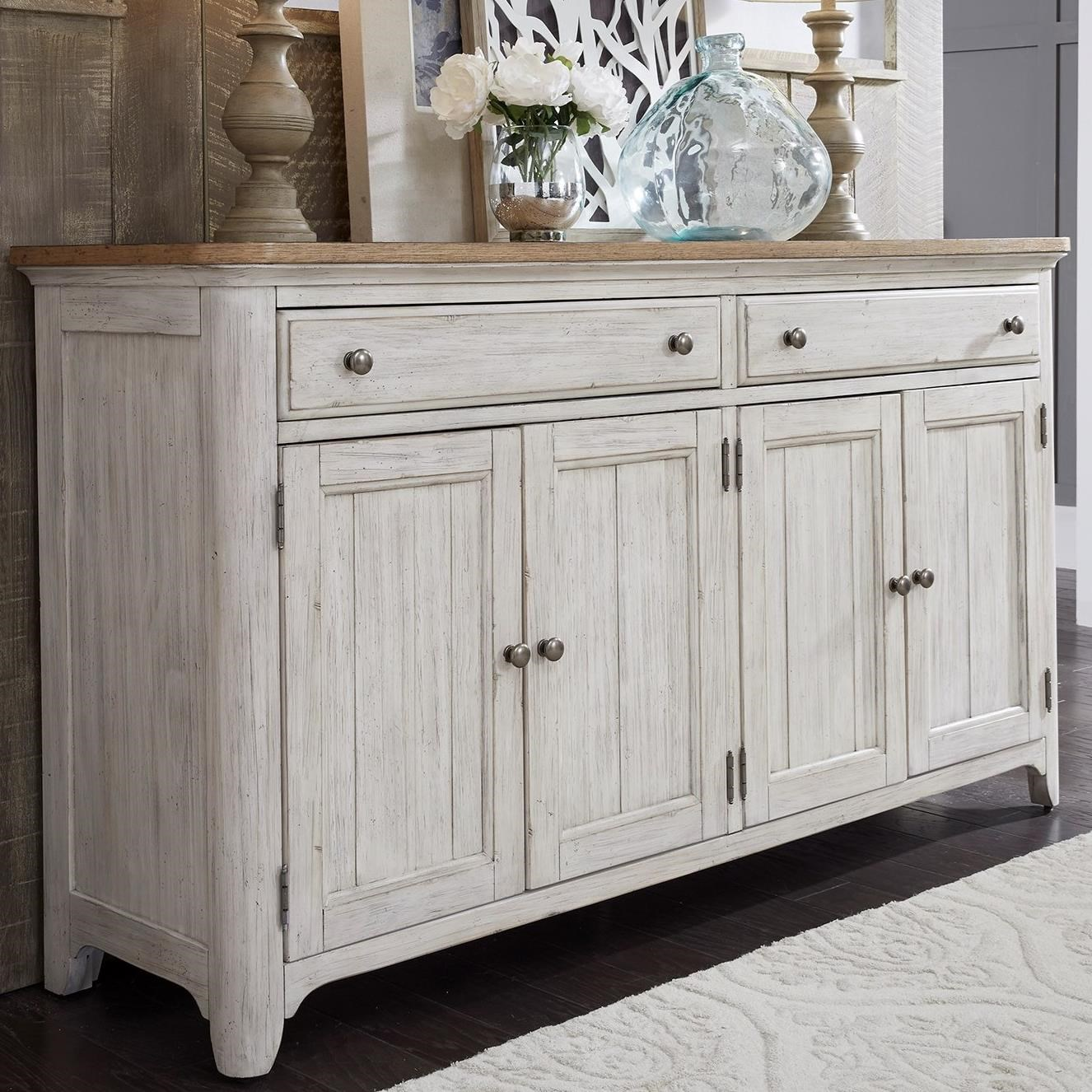 Farmhouse Reimagined Server by Liberty Furniture at Lapeer Furniture & Mattress Center