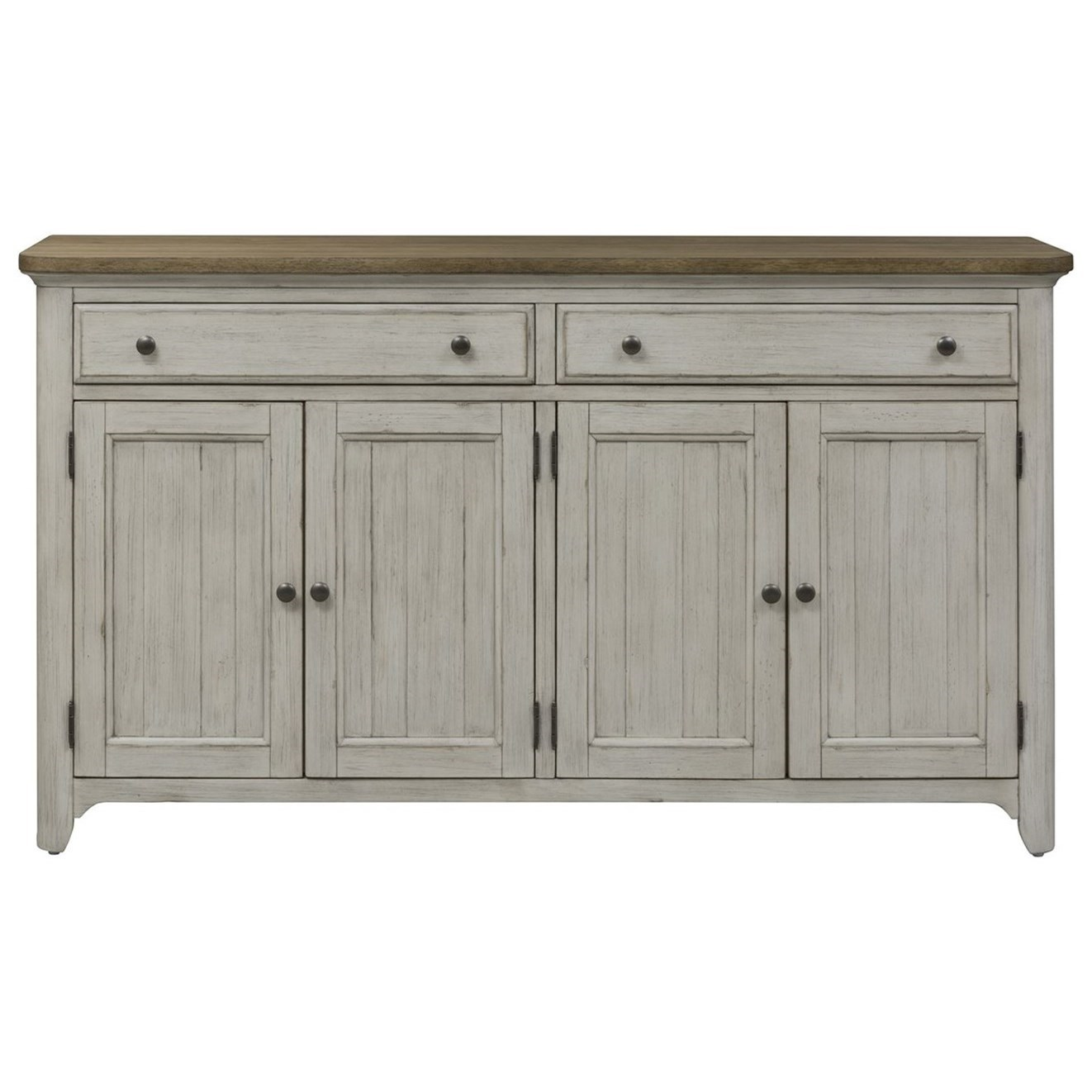 Farmhouse Reimagined Server by Liberty Furniture at Darvin Furniture