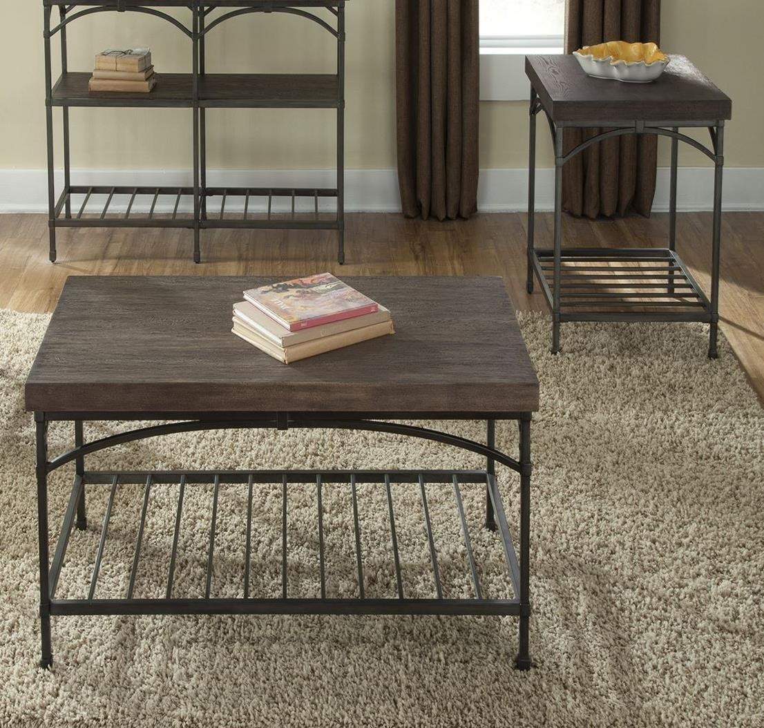 Franklin 3-Piece Table Set by Liberty Furniture at Northeast Factory Direct