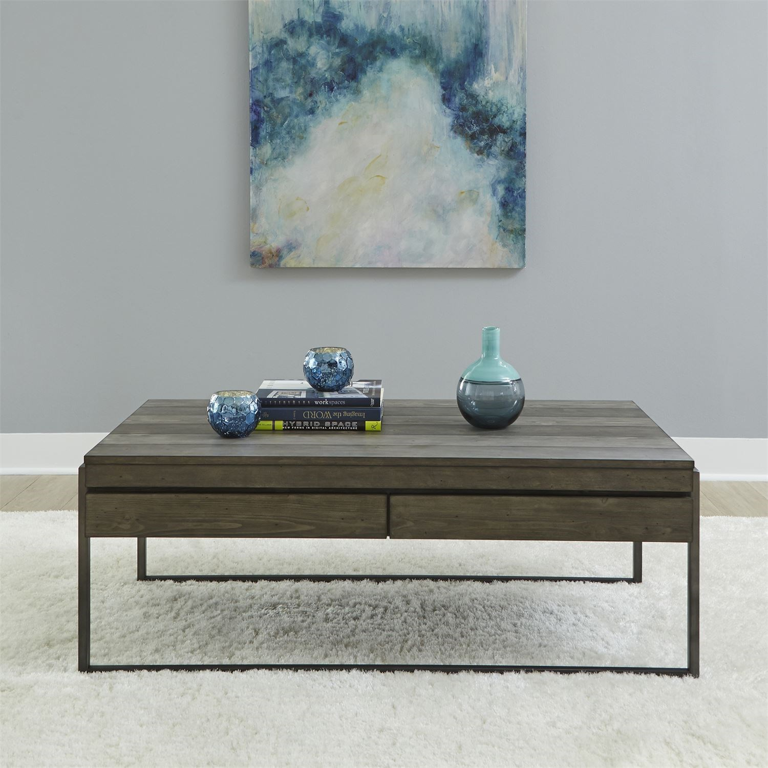 Gateway Cocktail Table by Liberty Furniture at Darvin Furniture