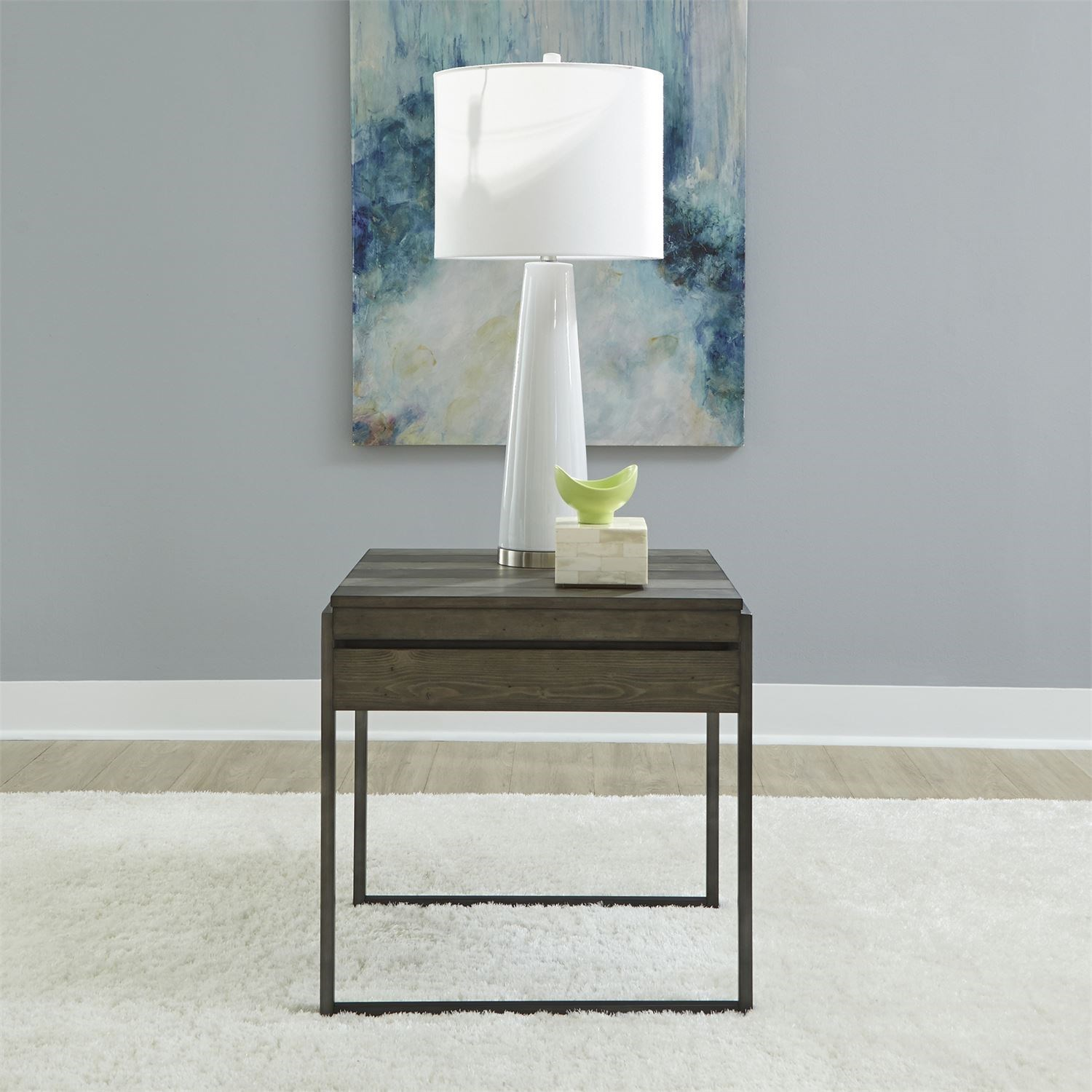 Gateway End Table by Libby at Walker's Furniture