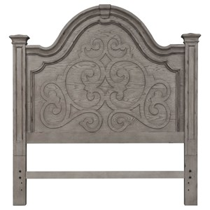 Traditional Queen Panel Headboard