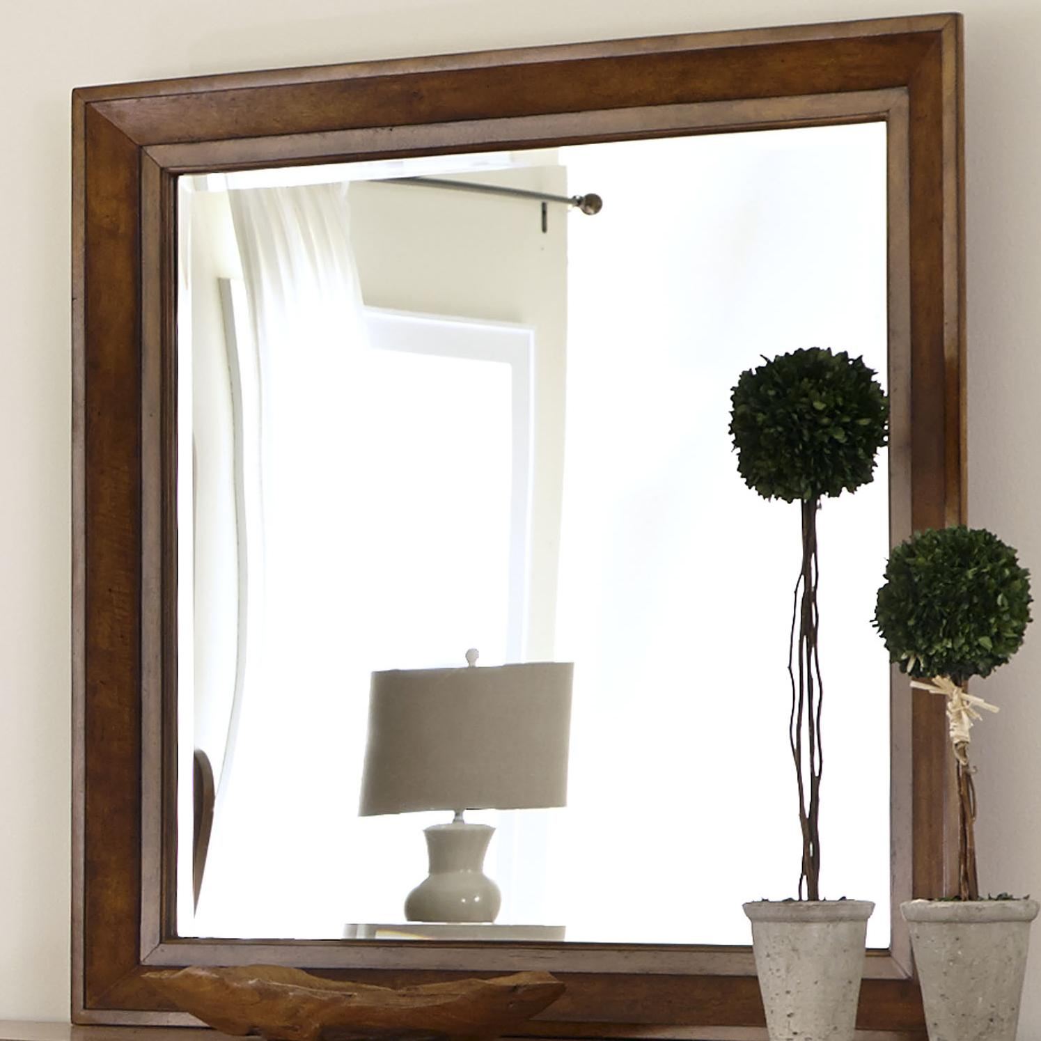 Grandpa's Cabin Mirror by Liberty Furniture at Northeast Factory Direct
