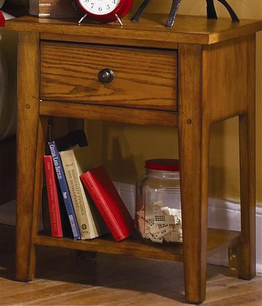 Grandpa's Cabin Nightstand by Libby at Walker's Furniture