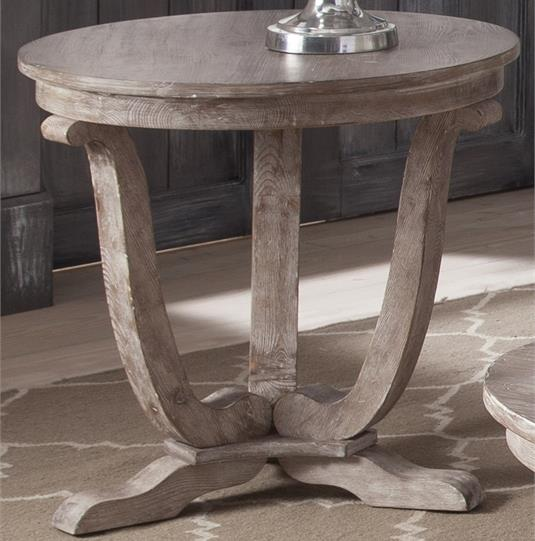 Greystone Mill End Table by Liberty Furniture at Northeast Factory Direct