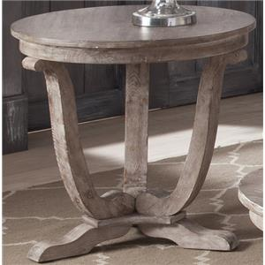 Liberty Furniture Greystone Mill End Table