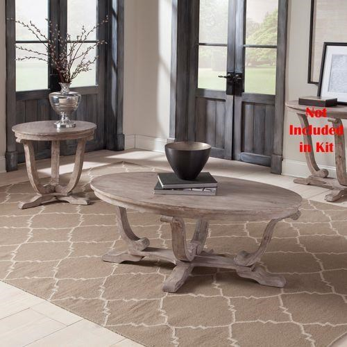 Greystone Mill 2 Piece Coffee Table Set by Liberty Furniture at Sam Levitz Outlet