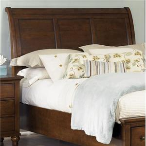Transitional Queen Sleigh Headboard