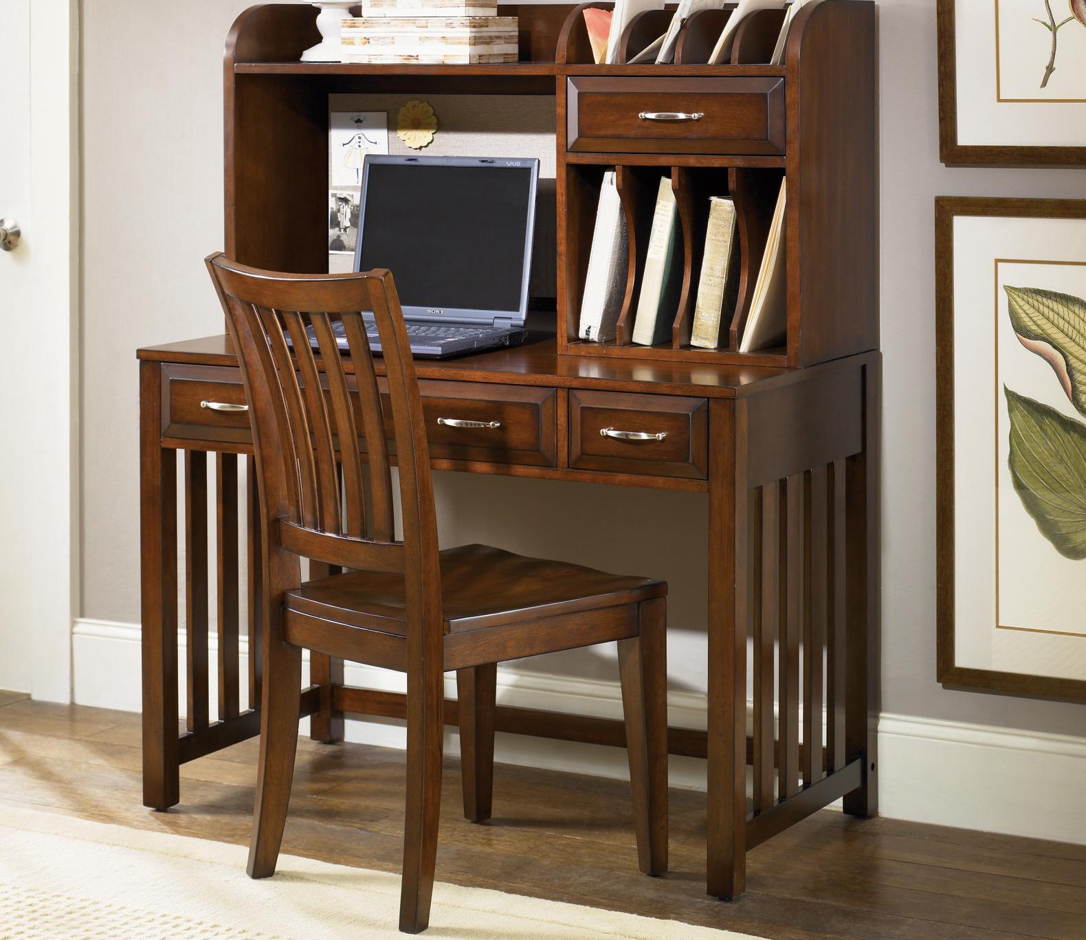 Hampton Bay  Writing Desk and Hutch by Liberty Furniture at Lapeer Furniture & Mattress Center