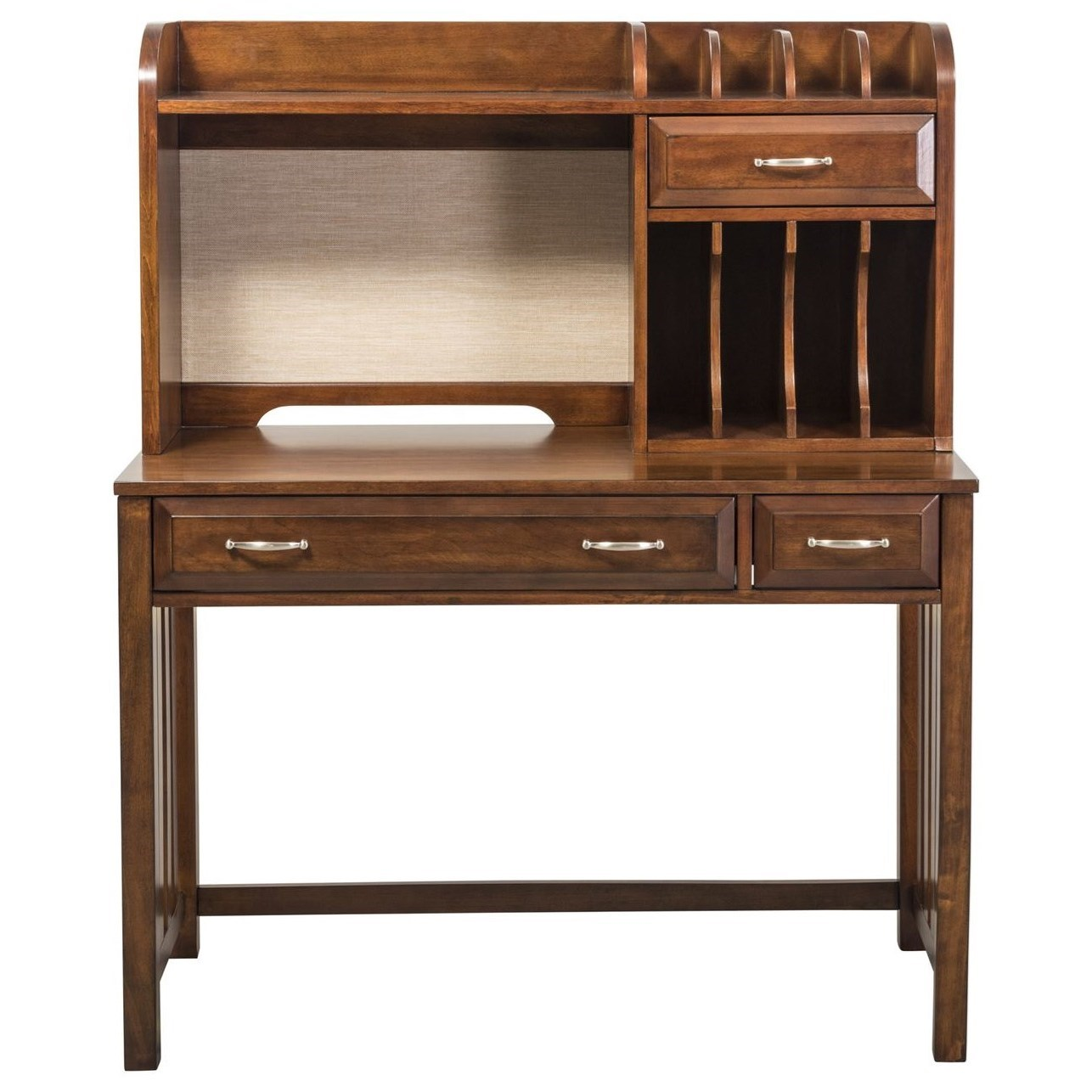 Hampton Bay  Writing Desk and Hutch by Libby at Walker's Furniture