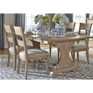 Trestle Table and Chair Set