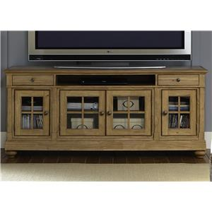 """Liberty Furniture Harbor View 74"""" TV Console"""